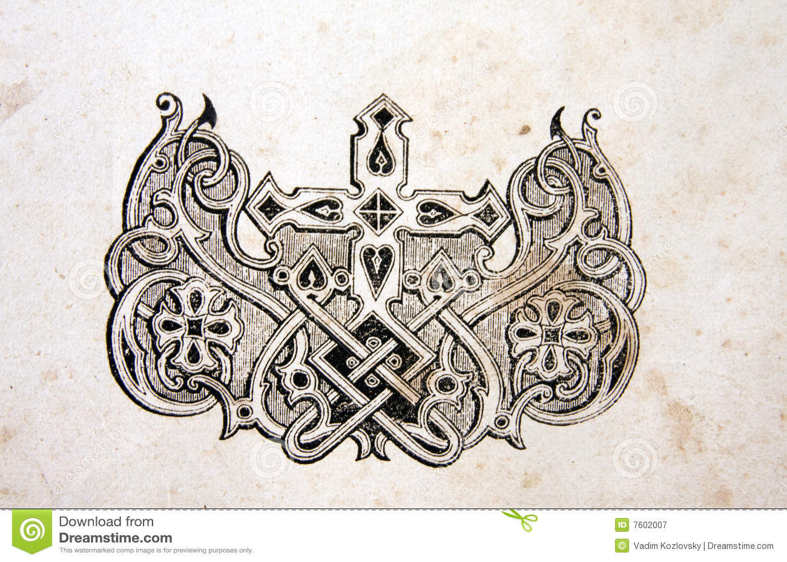 Antiek ornament