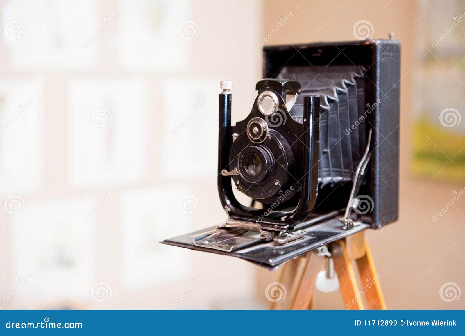 Antieke Fotocamera Royalty vrije Stock Afbeeldingen   Afbeelding  11712899