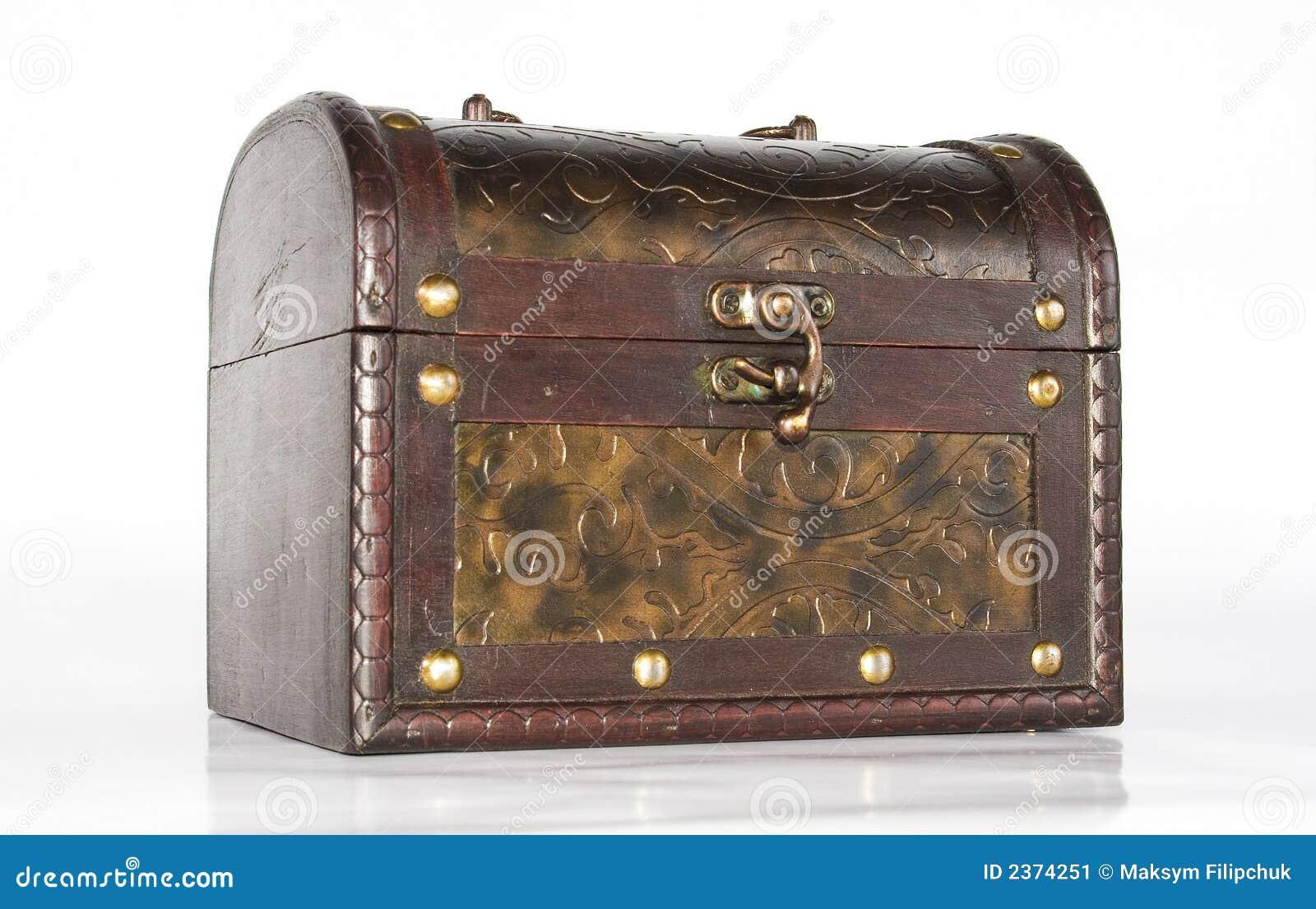 Antieke Kist Stock Afbeelding   Beeld  2374251