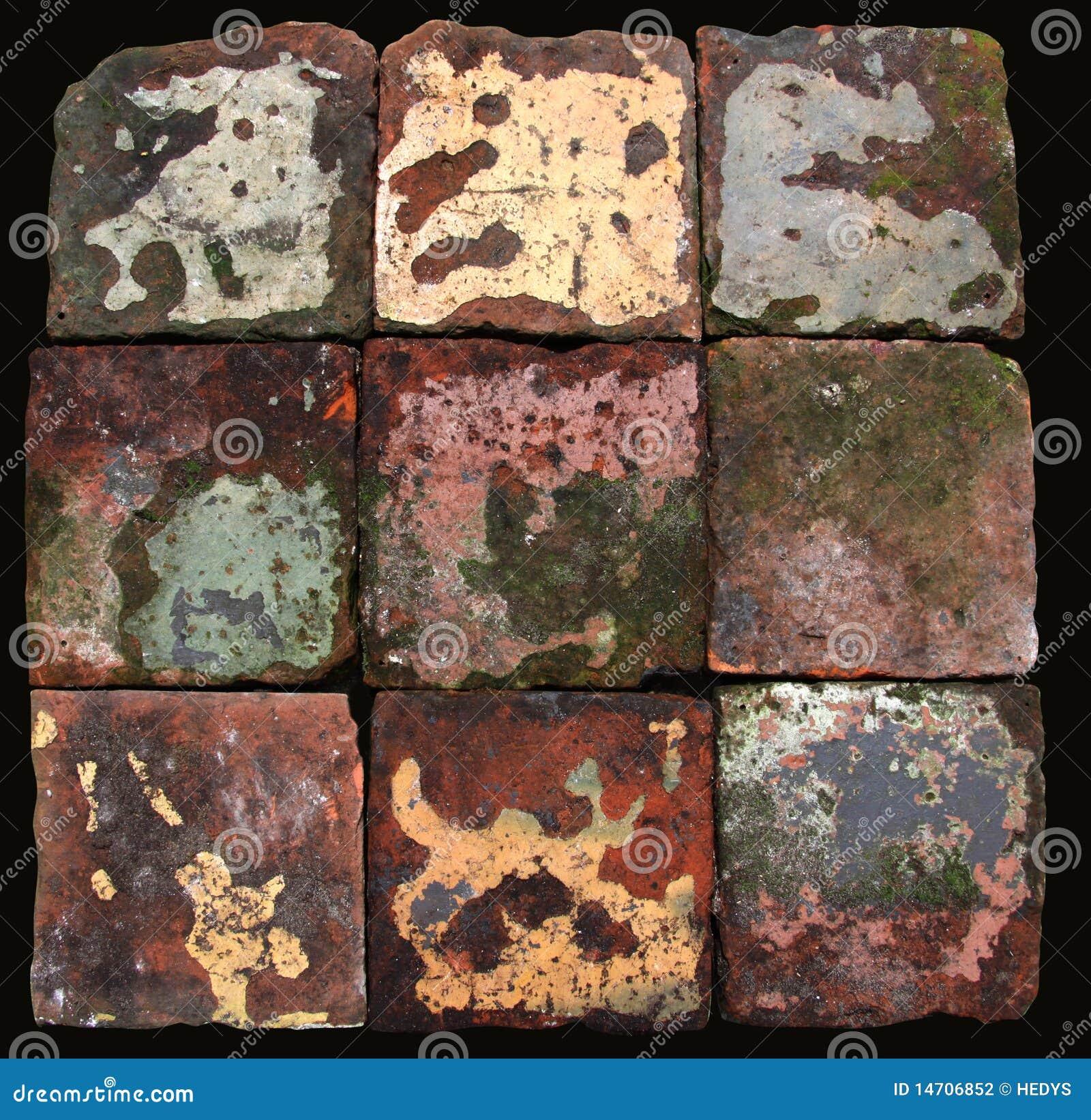 Antieke Nederlandse De Vloertegels Van De Boerderij  Stock Fotografie   Afbeelding  14706852