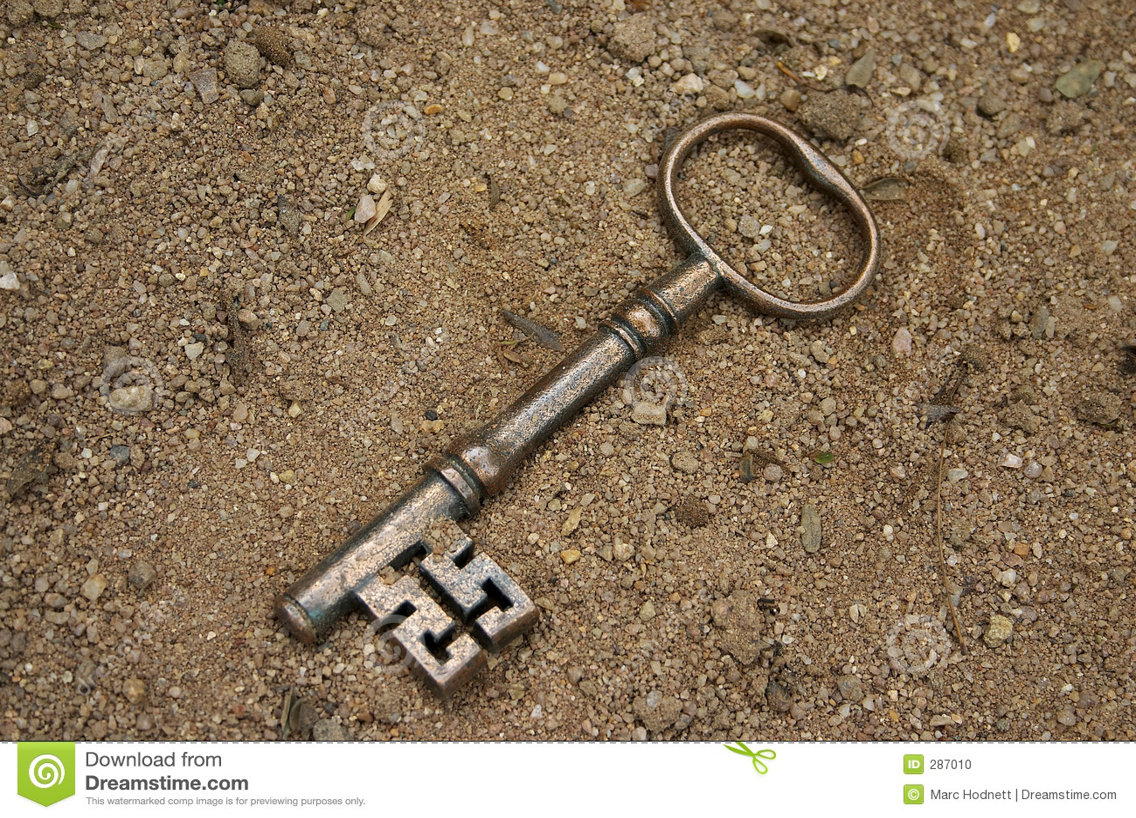 Antieke sleutel