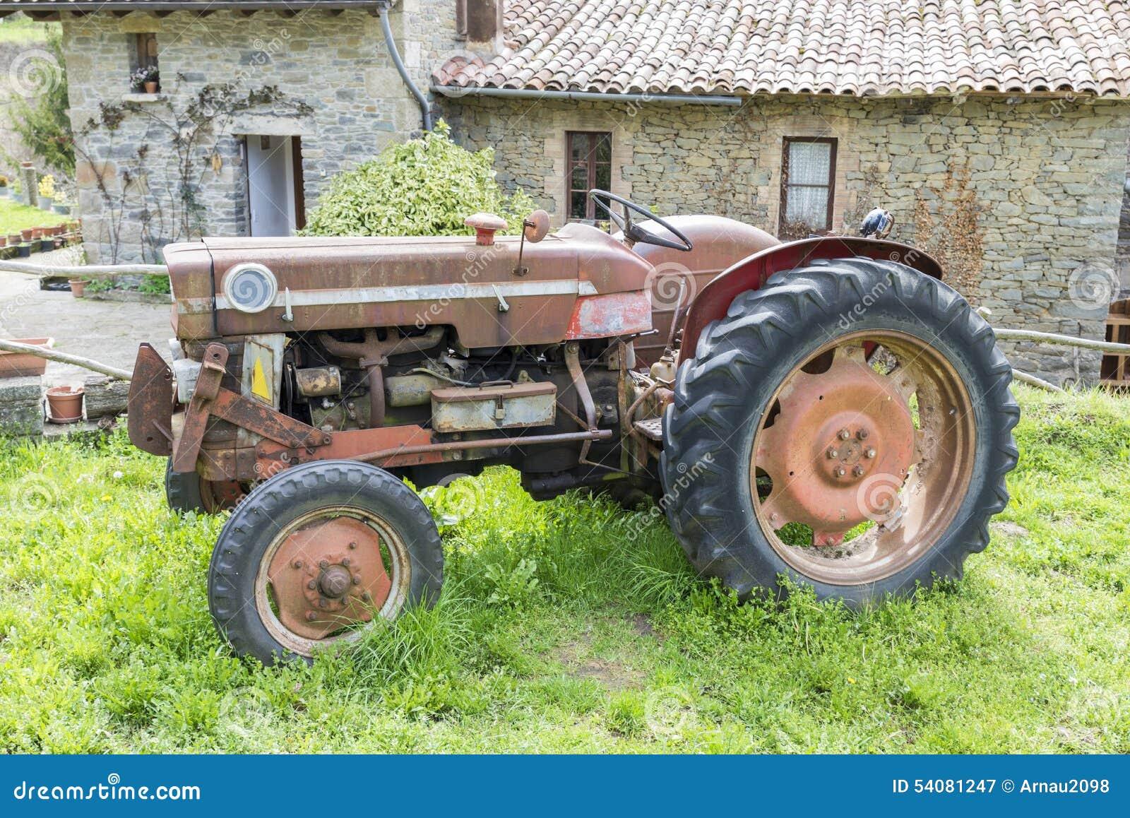 Antieke Tractor