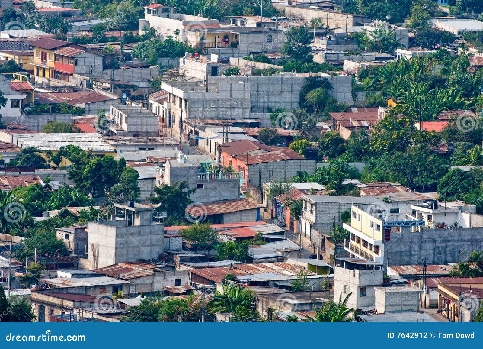 Modern houses exterior - Antigua Guatemala City Suburbs Stock Photography Image 7642912