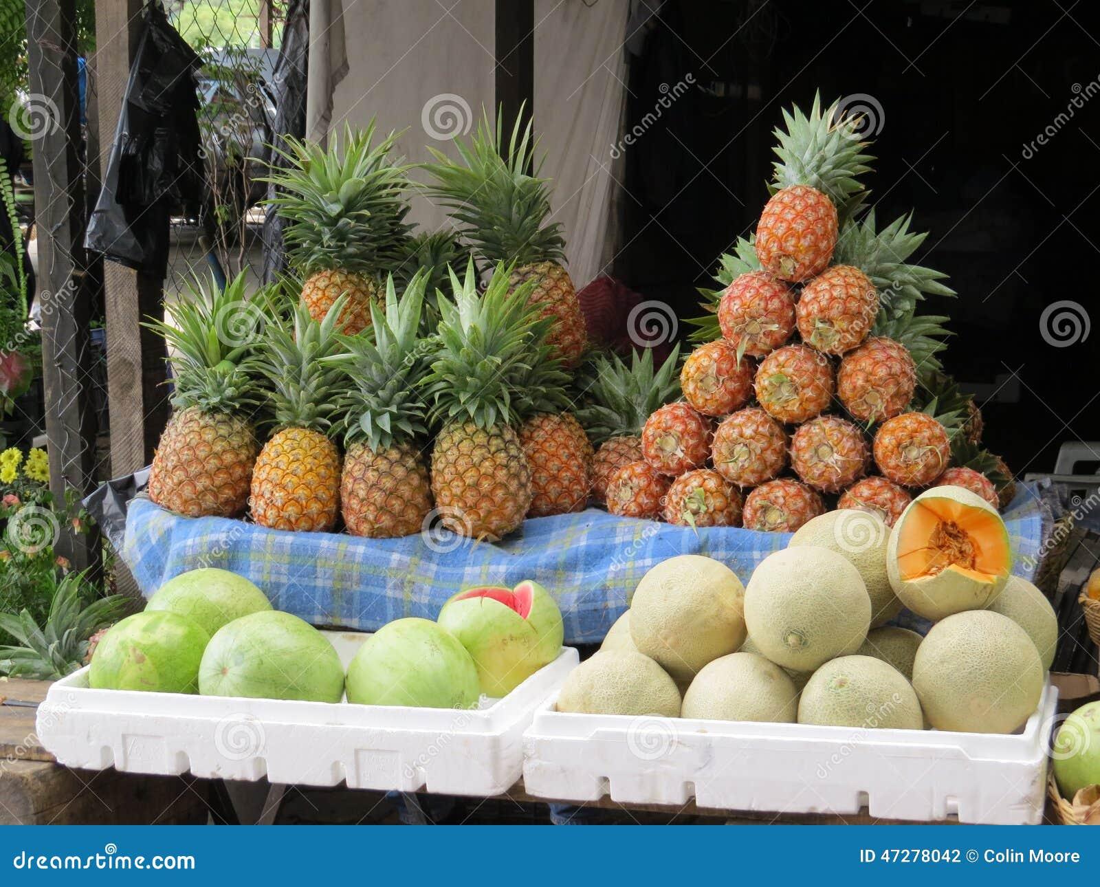 Antigua market stall