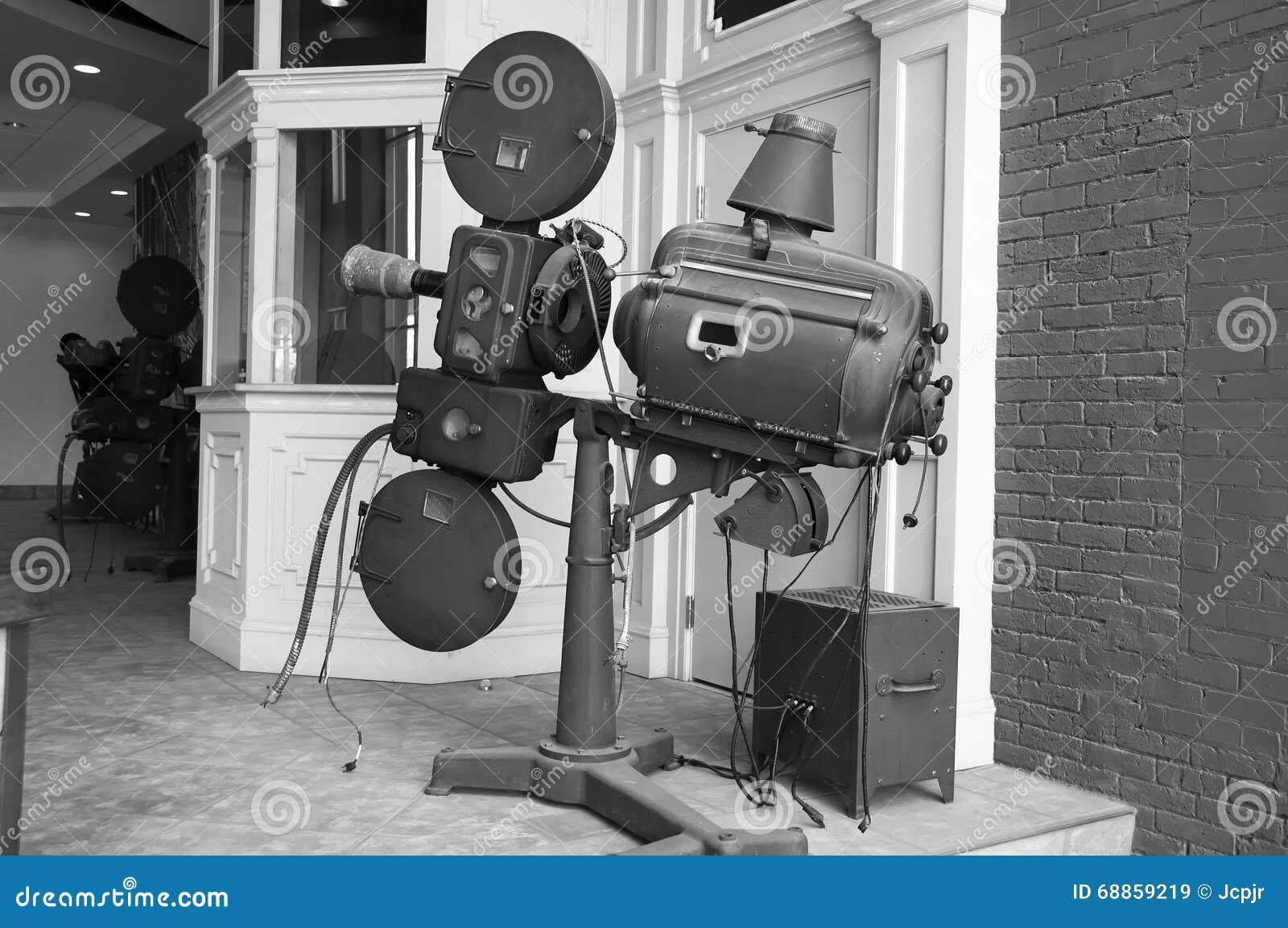 Antik filmprojektor