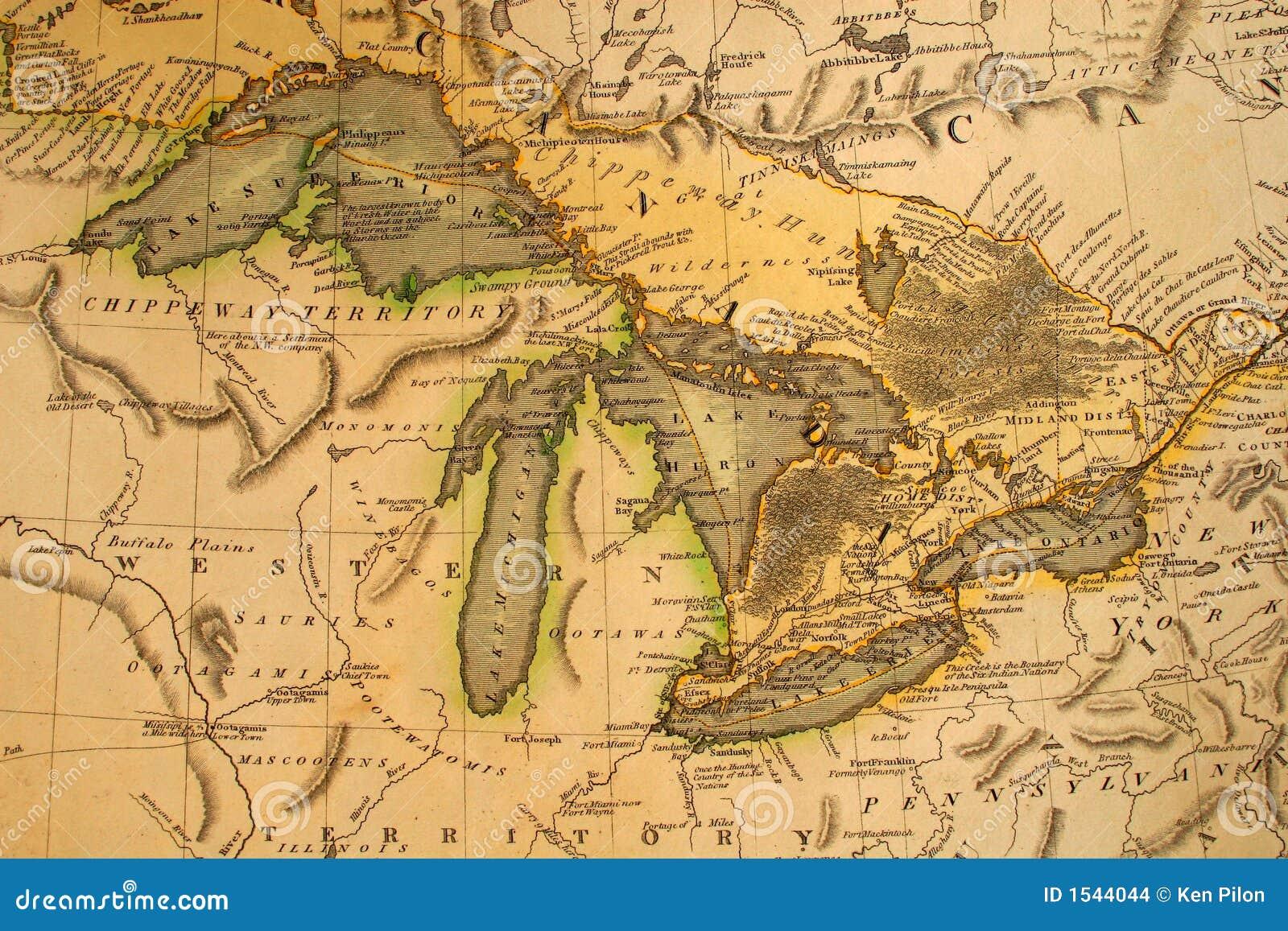 Antik Great Lakes översikt