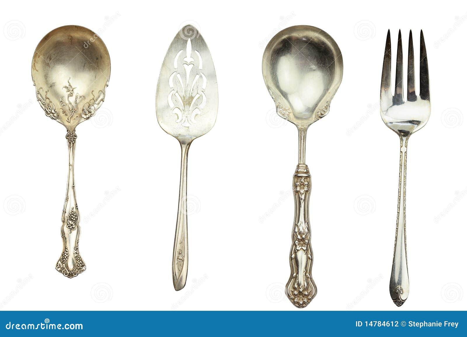 Antik silverware