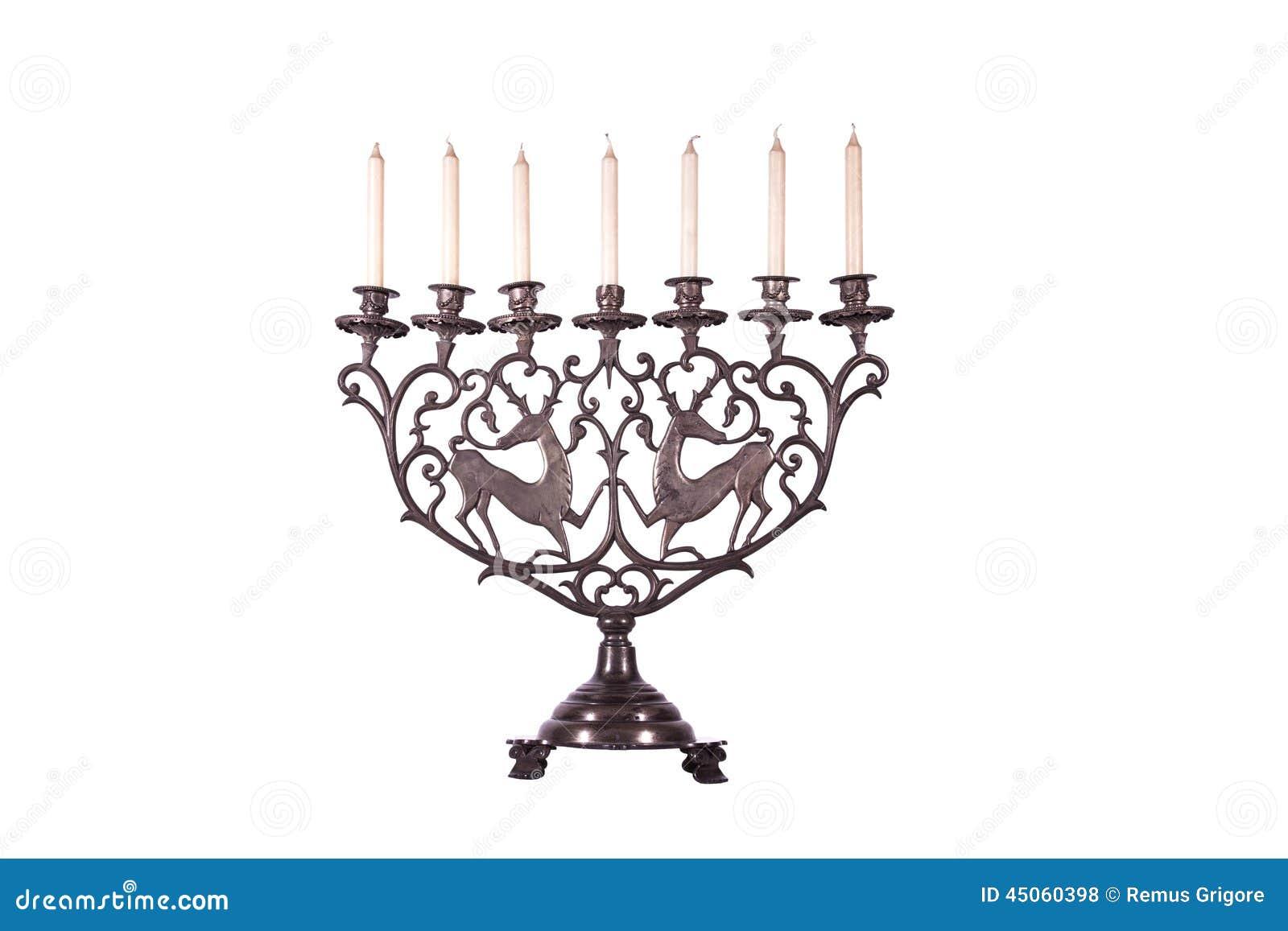 Antika judiska menoror