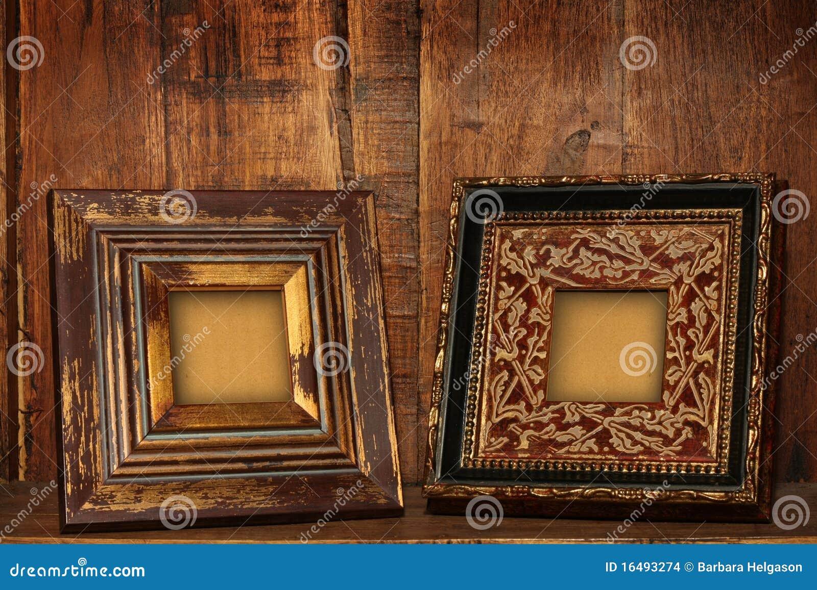 Antike Bilderrahmen. stockfoto. Bild von auslegung, fotographie ...