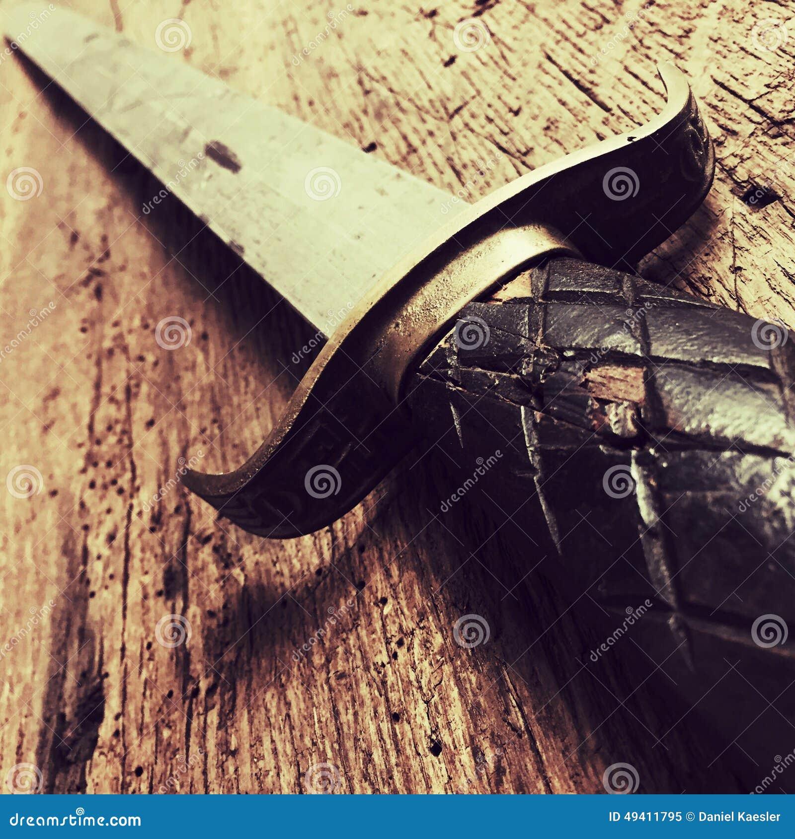 Download Antike Klinge stockbild. Bild von alter, mittlere, medievally - 49411795