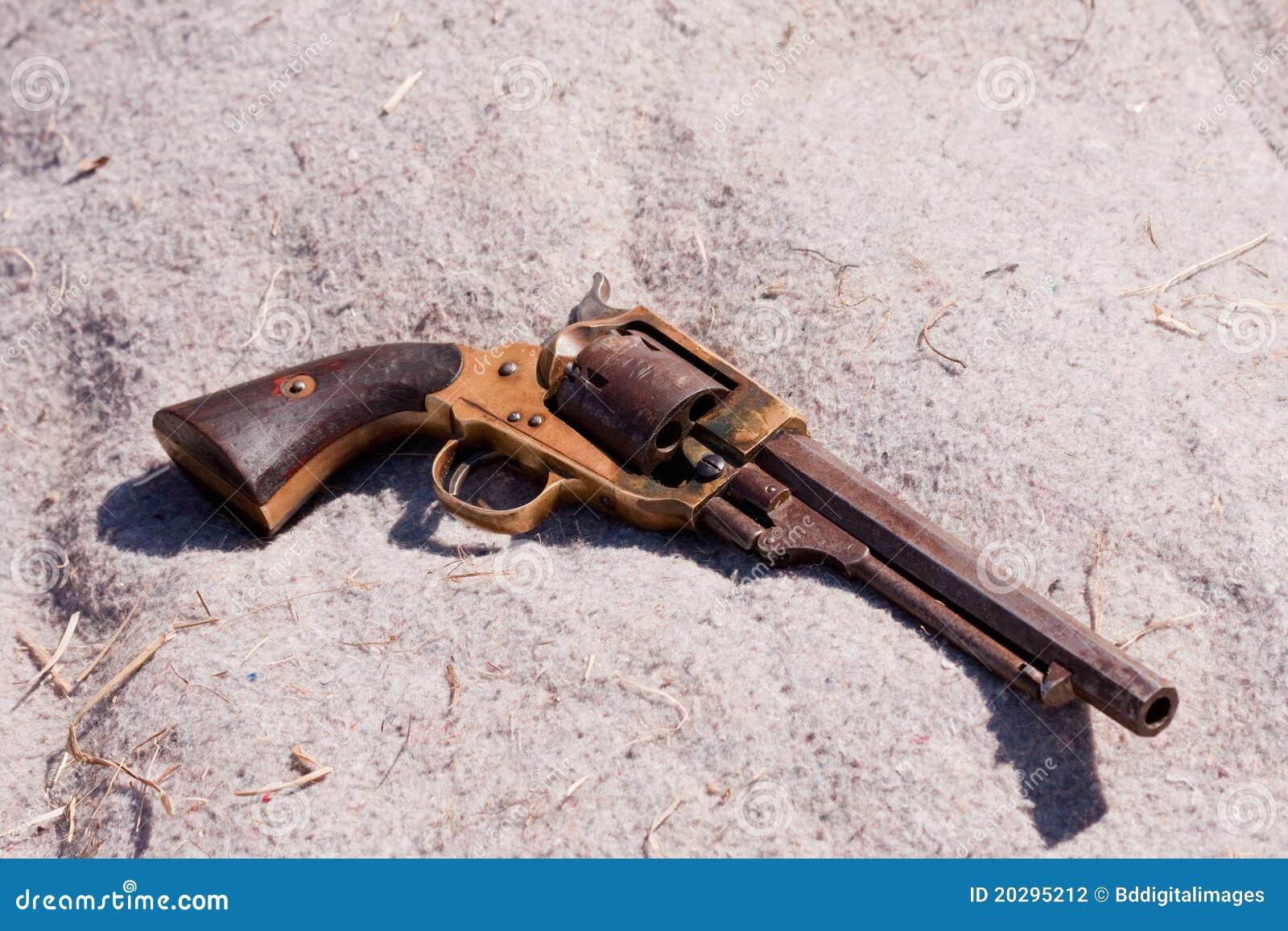 Antike Pistole