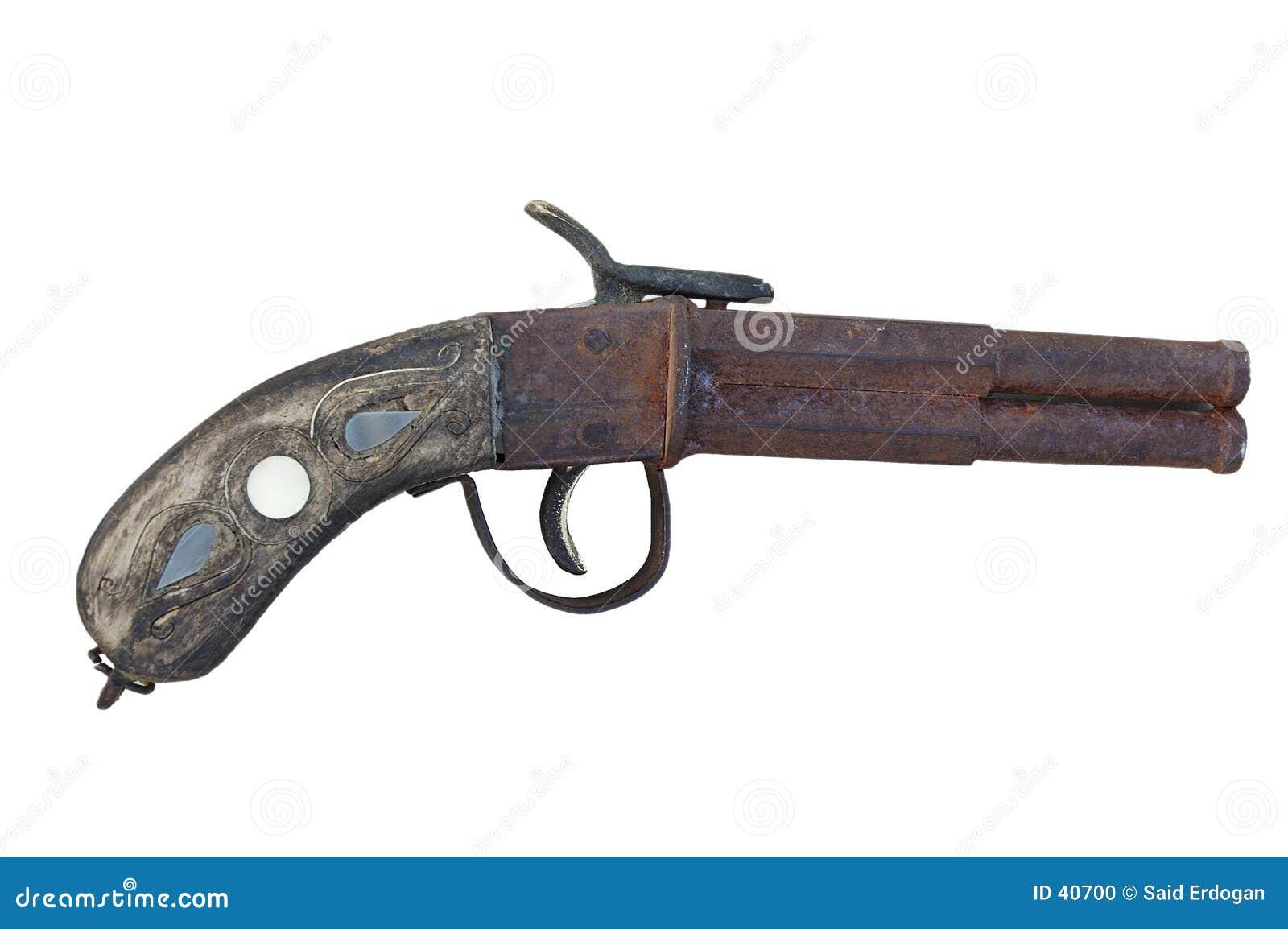 Antike Pistole (striped)