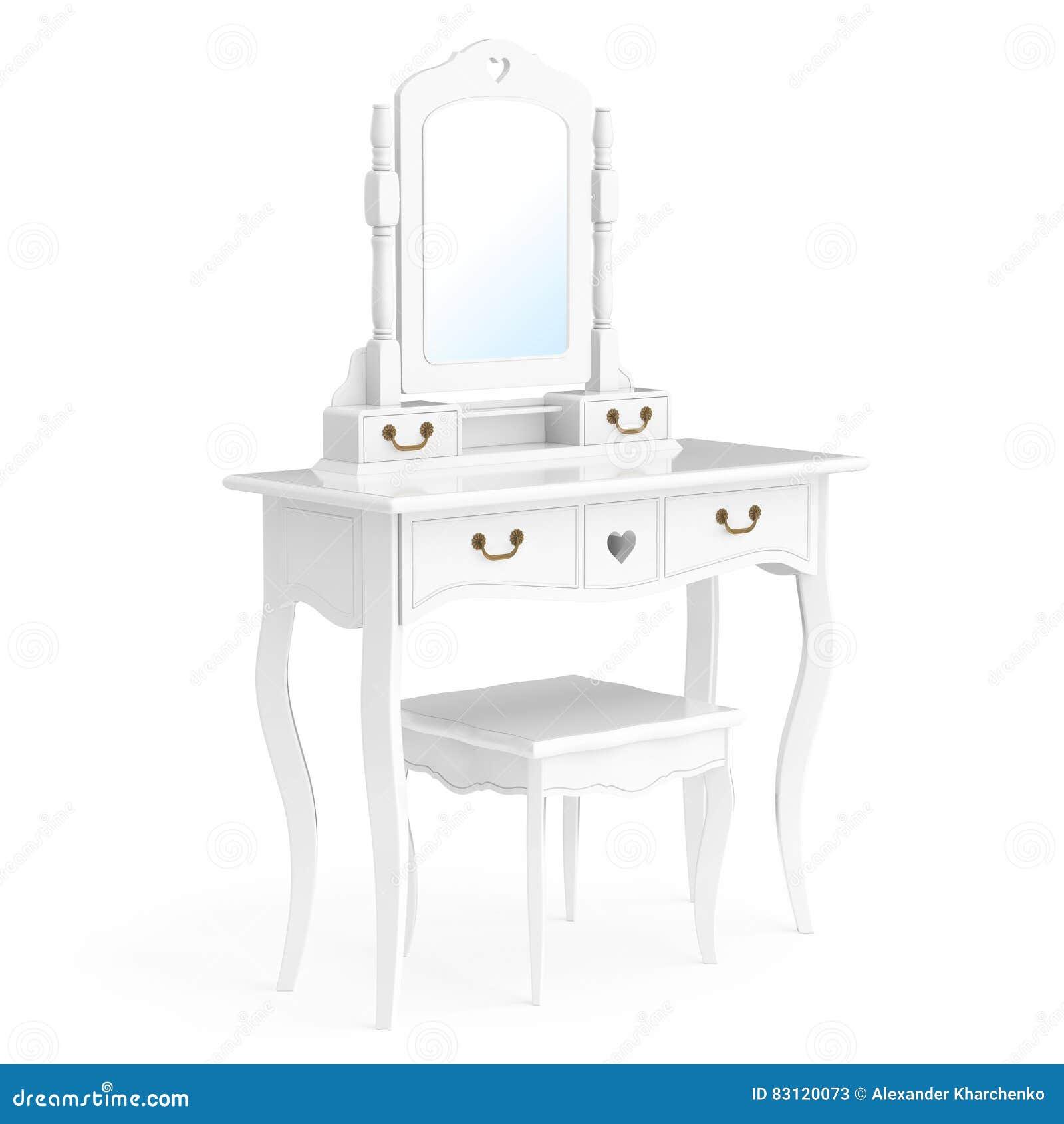 Antike schlafzimmer eitelkeits tabelle mit schemel und - Antike schlafzimmer ...