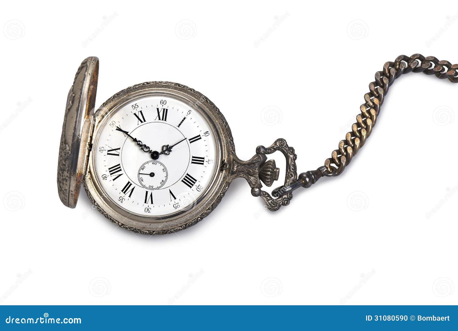 Antike taschenuhr  Antike Taschenuhr Stockfoto - Bild: 31080590