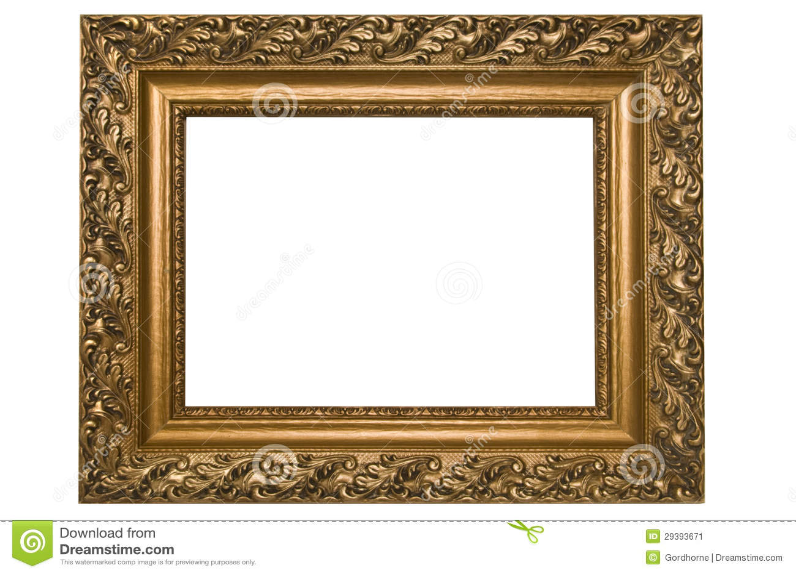 Antiker Bilderrahmen stockbild. Bild von antike, auslegung - 29393671