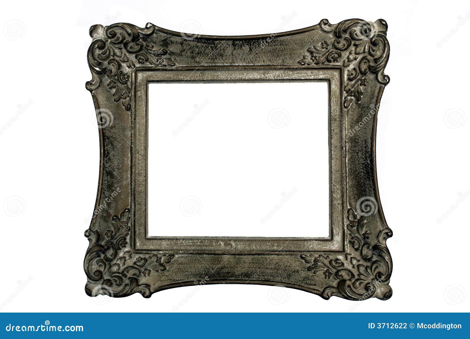 Antiker Bilderrahmen, Quadrat, Dunkelgraue Farbe Stockfoto - Bild ...