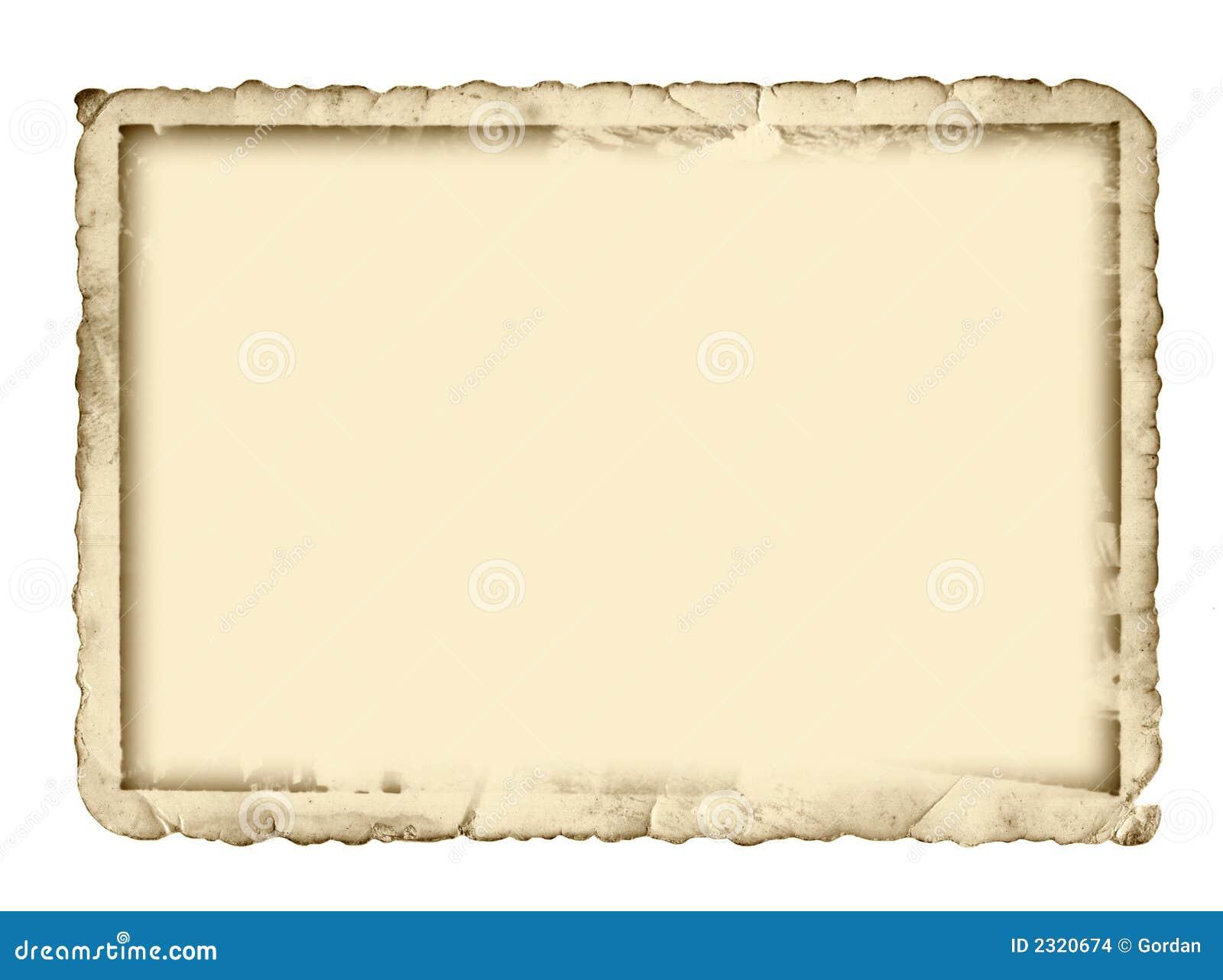 Antiker Fotorand Stockbilder - Bild: 2320674