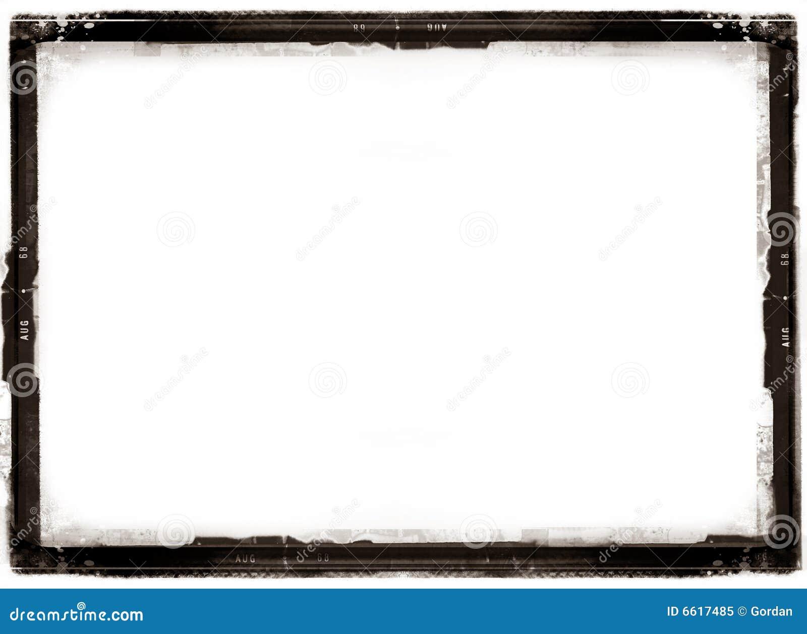 Antiker Fotorand stock abbildung. Illustration von
