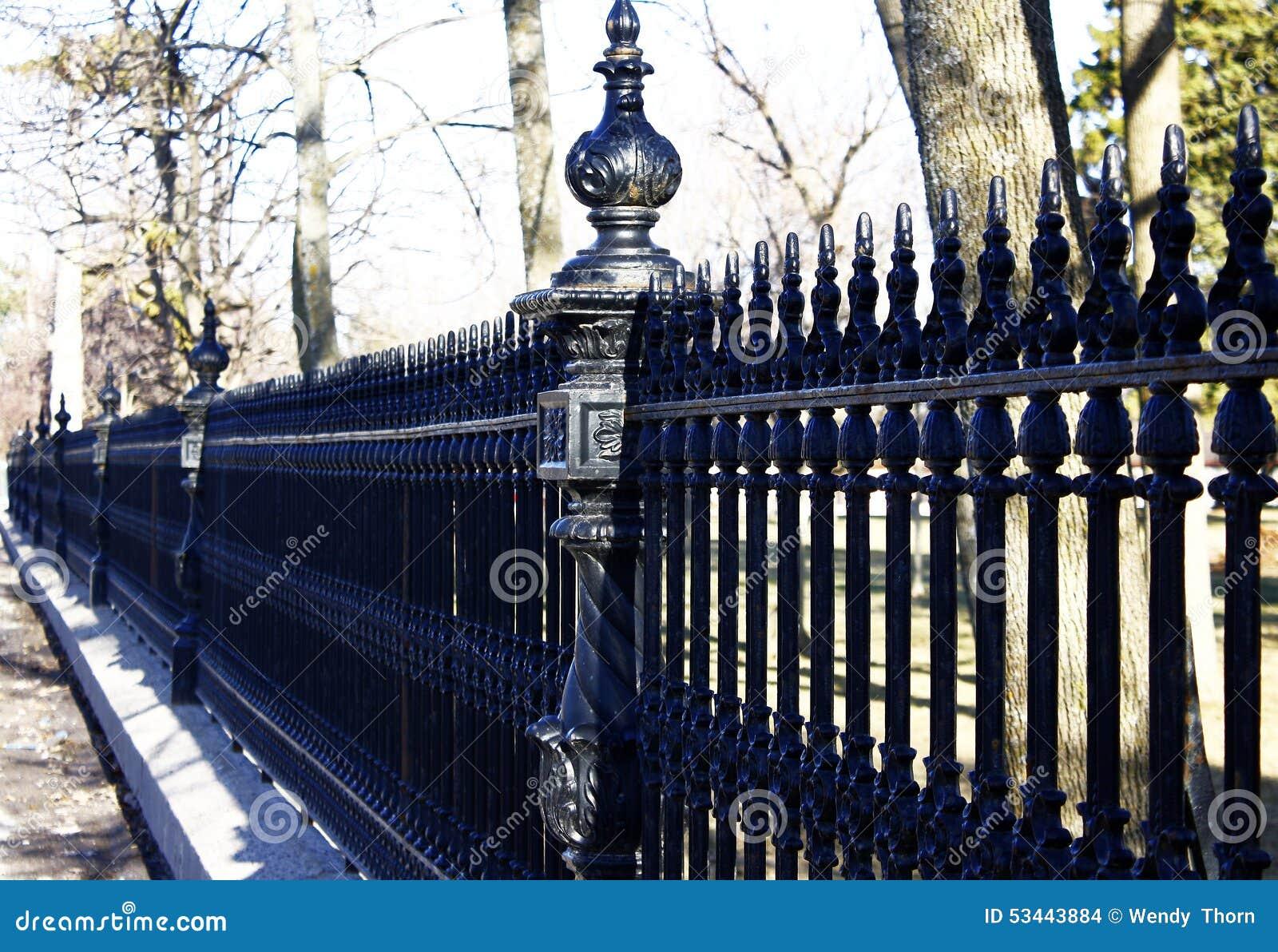 Wunderschönen Schmiedeeisen Zaun | Einzigartige Ideen zum Sichtschutz