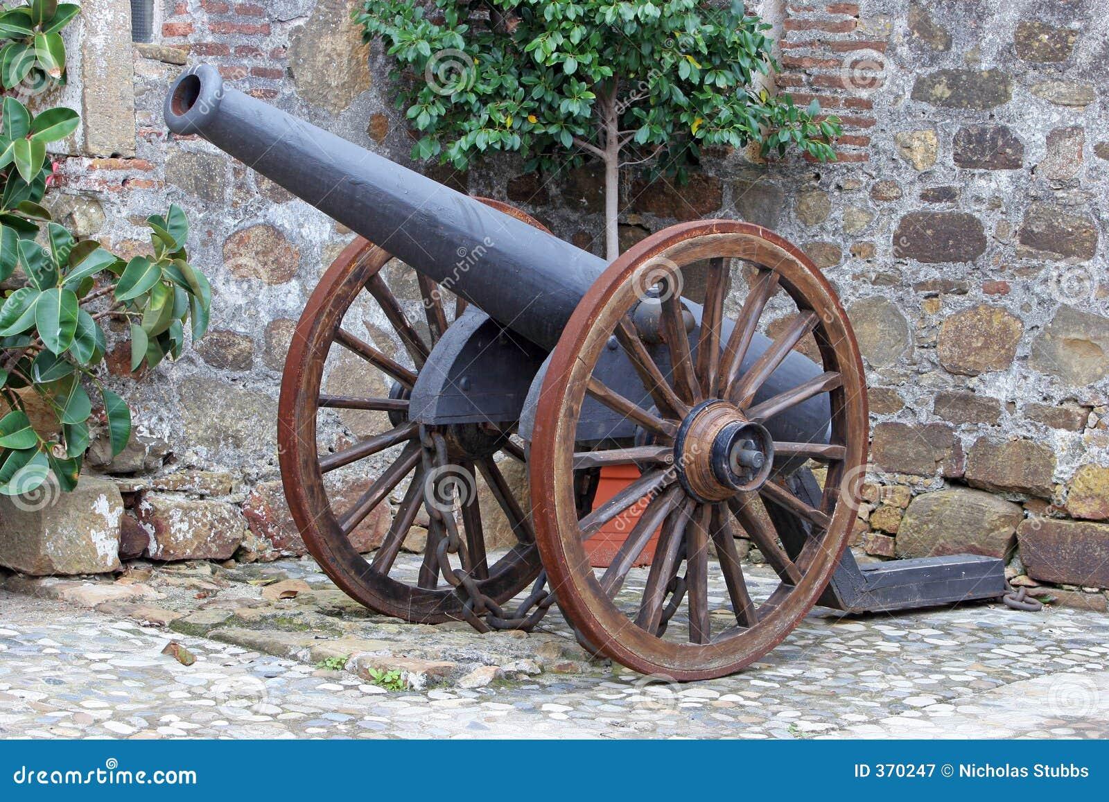 Antikes Canon im Luftschloß