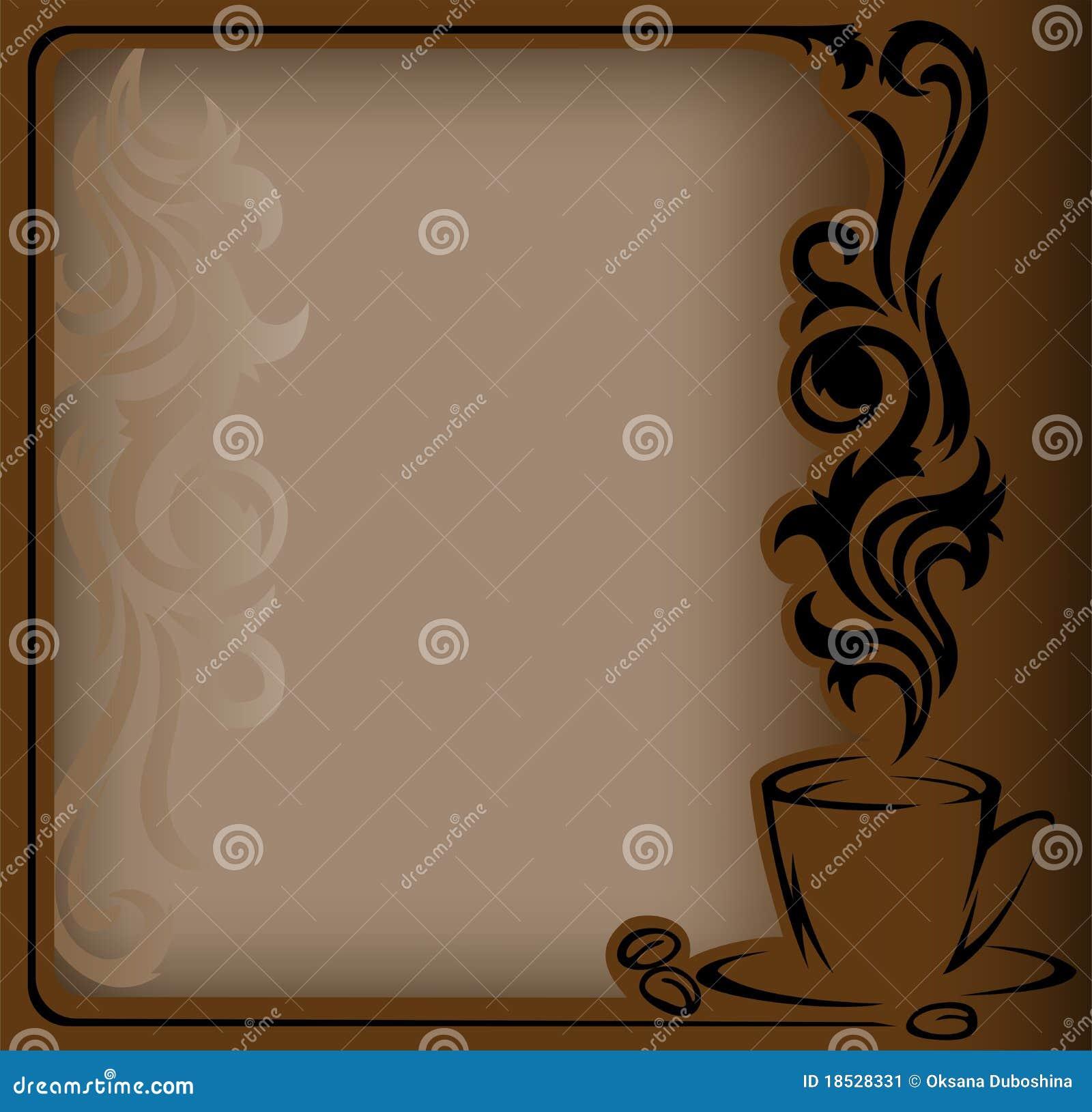 Antikes Kaffee Feld