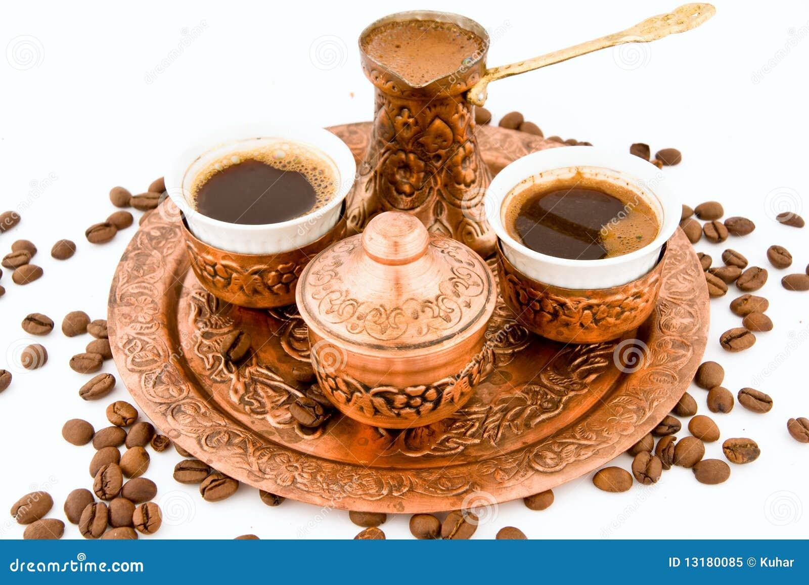 antikes kaffee set stockbild bild von eingeboren klein 13180085. Black Bedroom Furniture Sets. Home Design Ideas