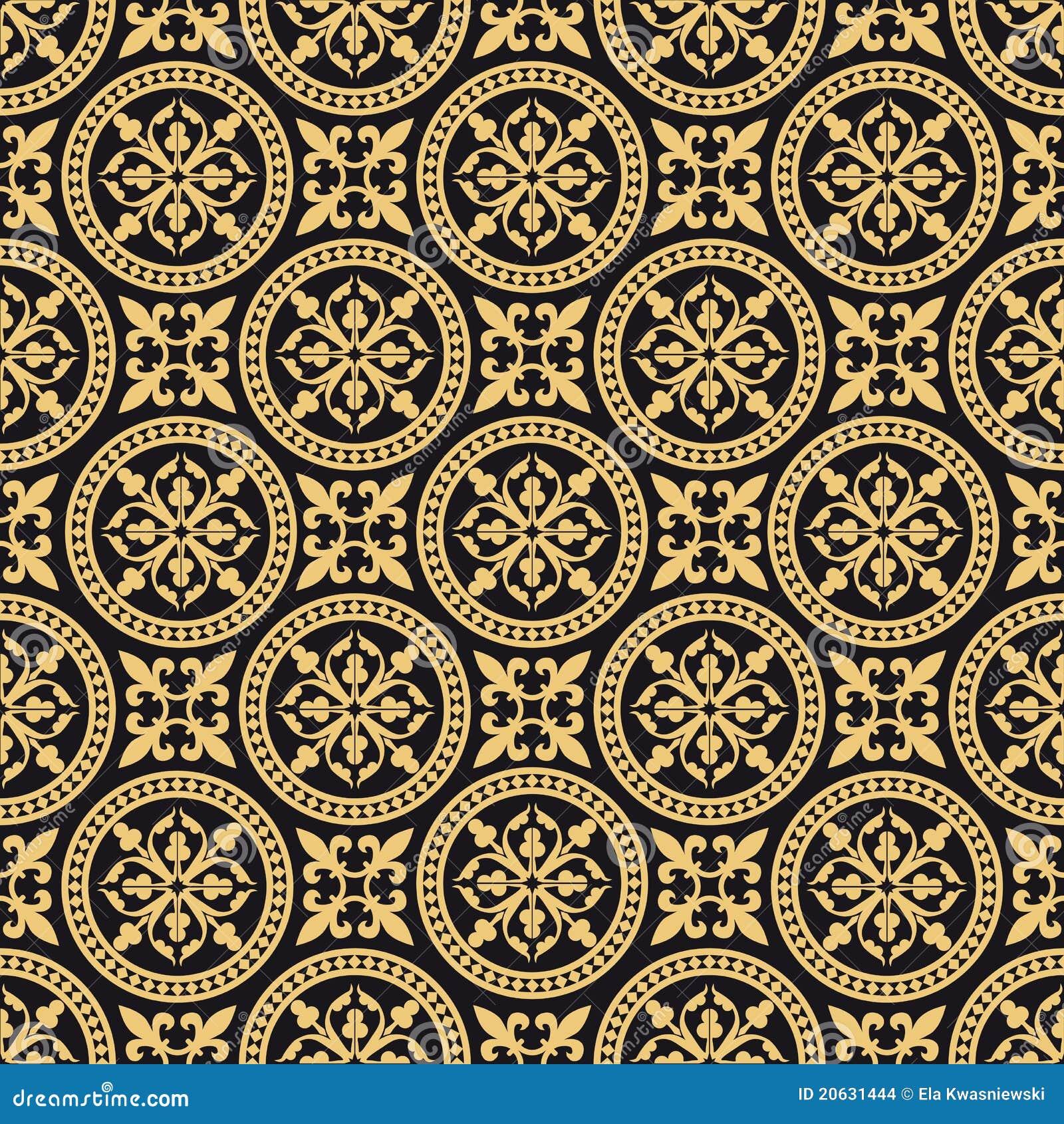 antikes orientalisches nahtloses muster stockbilder bild 20631444. Black Bedroom Furniture Sets. Home Design Ideas