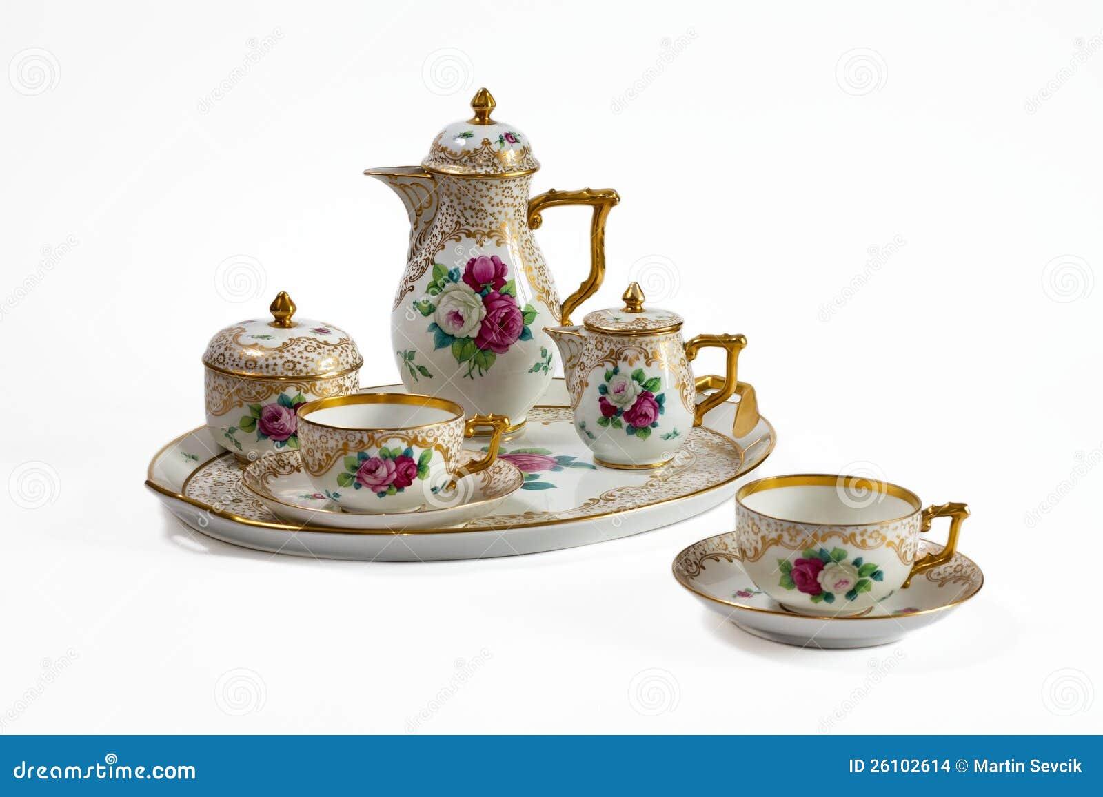 antikes porzellan rosenthal stockbilder bild 26102614. Black Bedroom Furniture Sets. Home Design Ideas