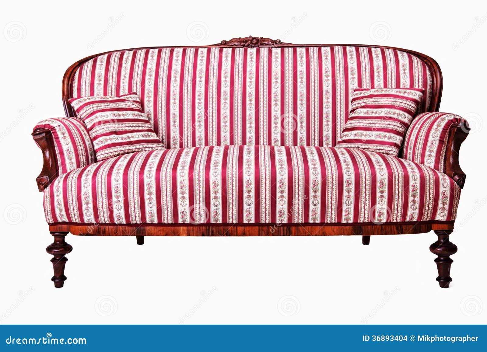 antikes sofa stockbilder bild 36893404. Black Bedroom Furniture Sets. Home Design Ideas
