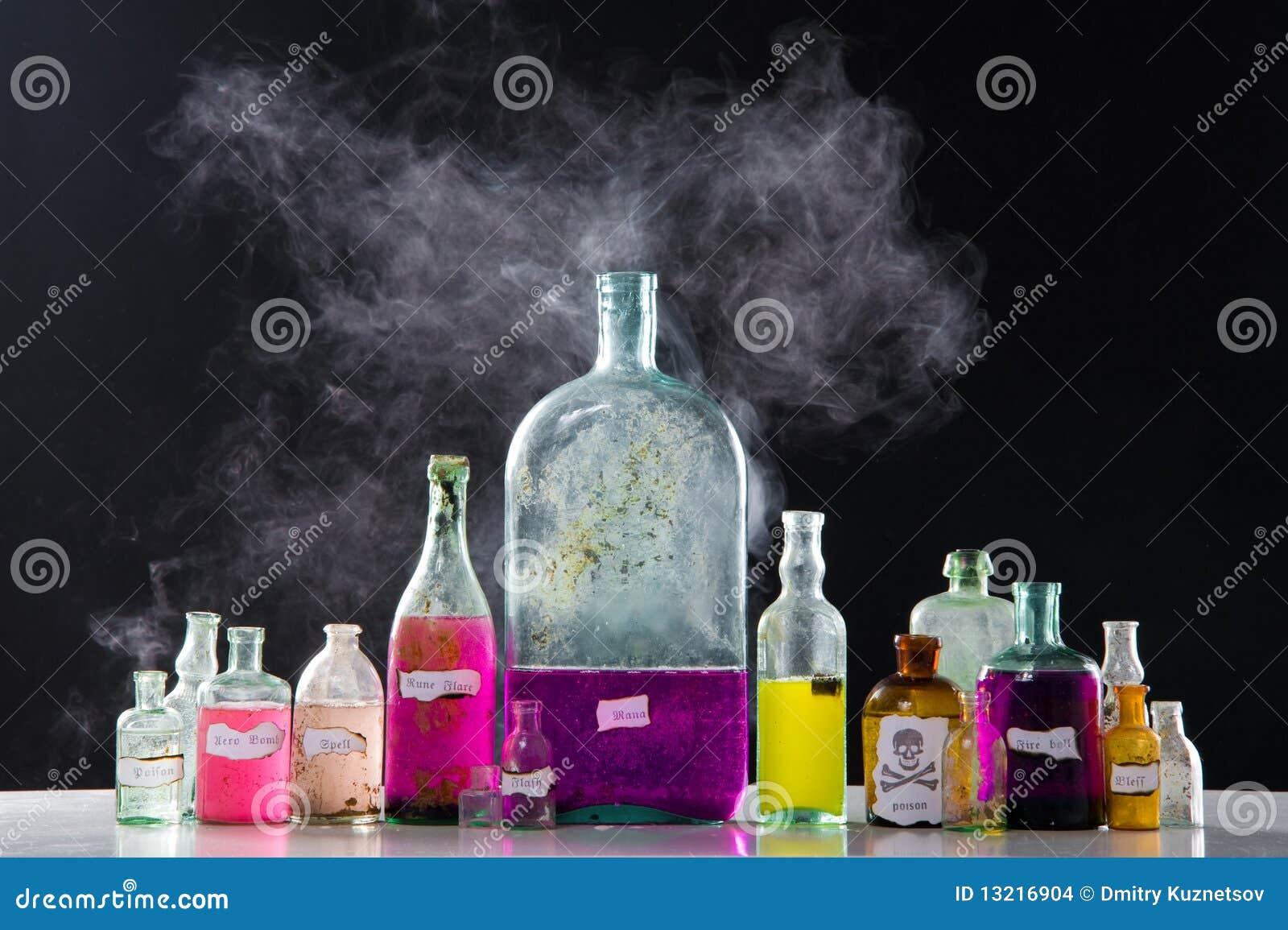Antikviteten bottles magiska pass