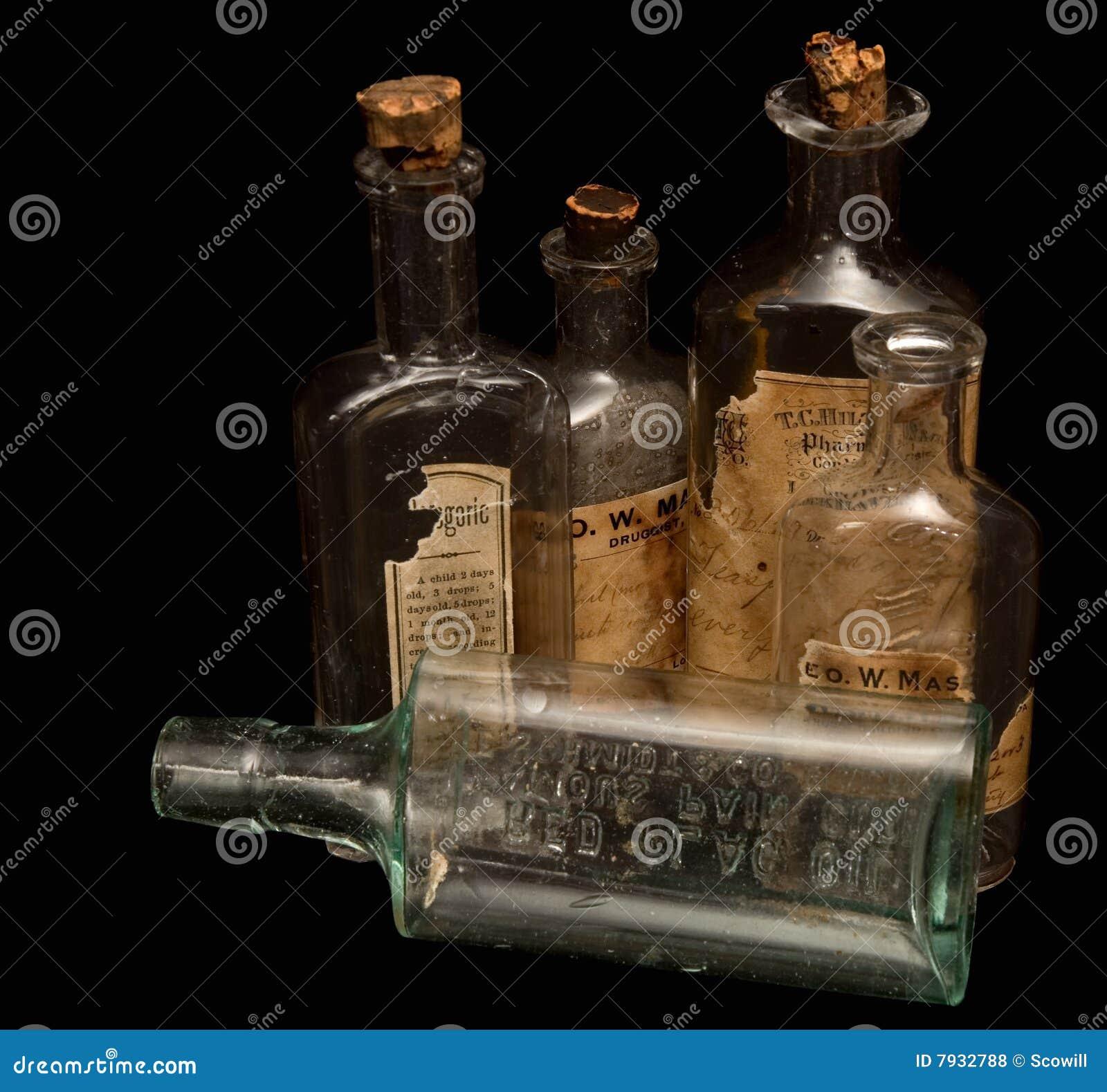 Antikviteten bottles medicinrecept