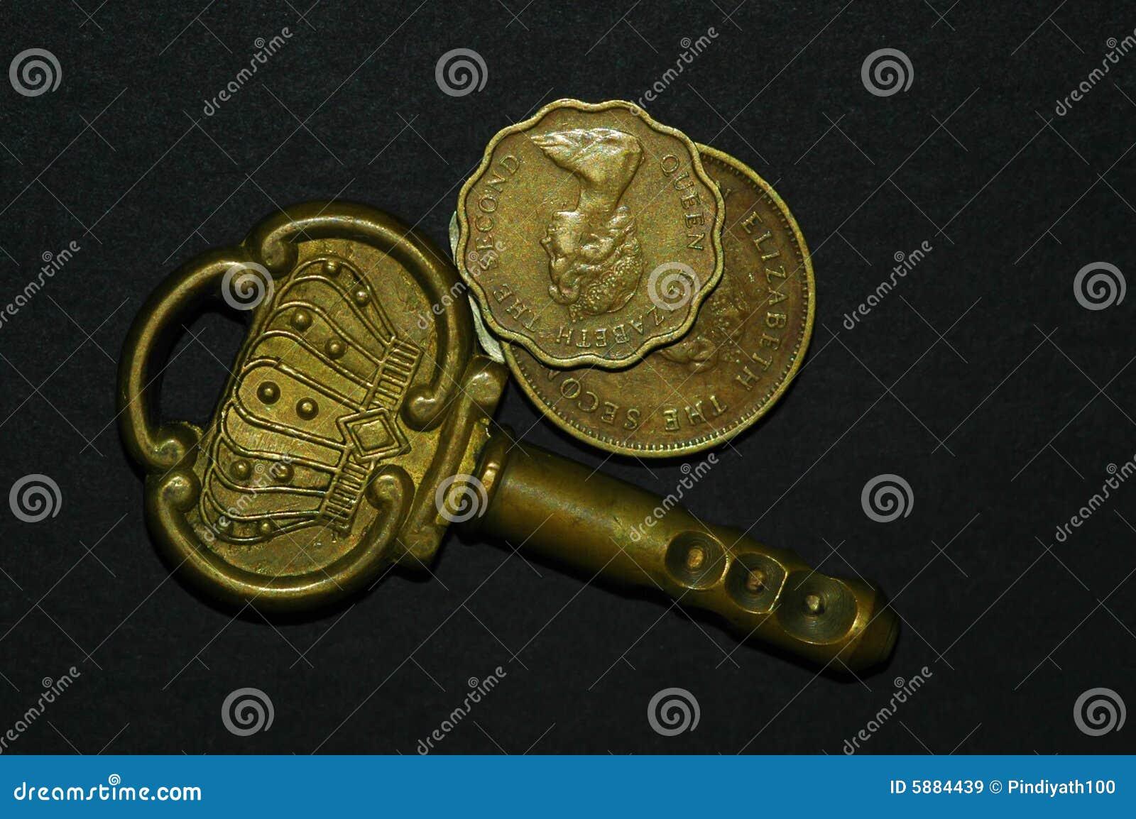 Antikviteten coins tangent