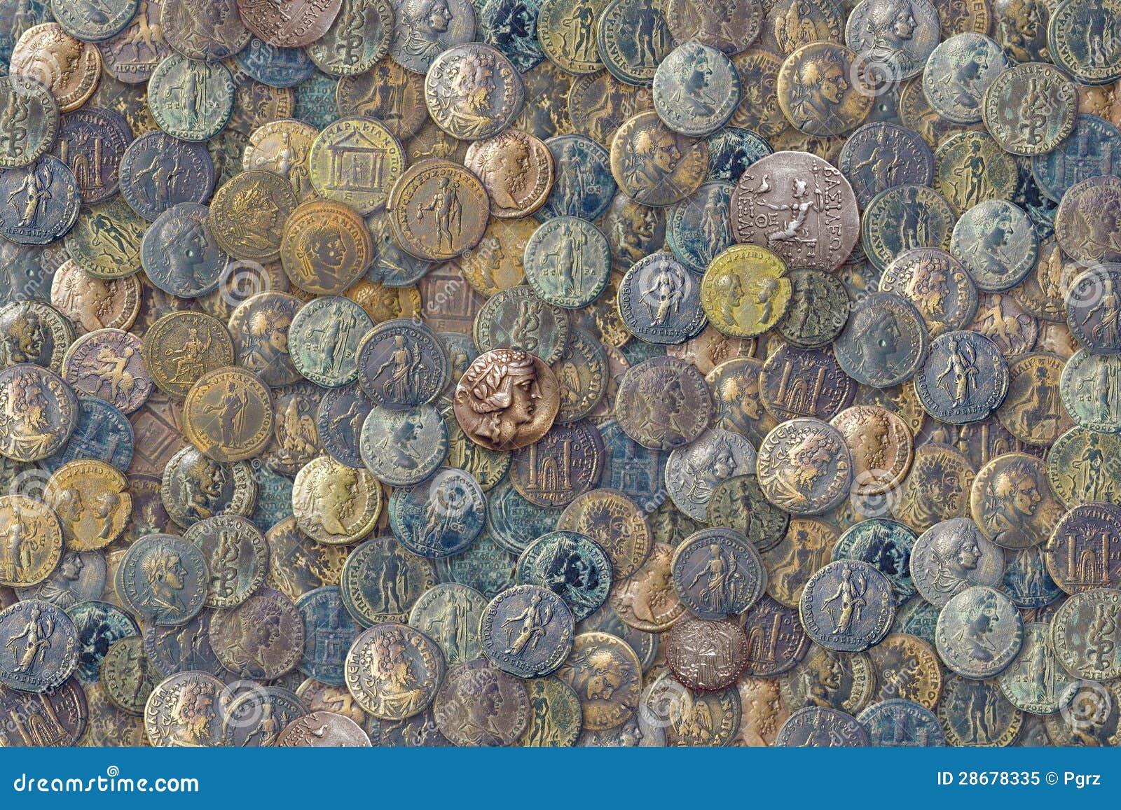 Antikviteten myntar