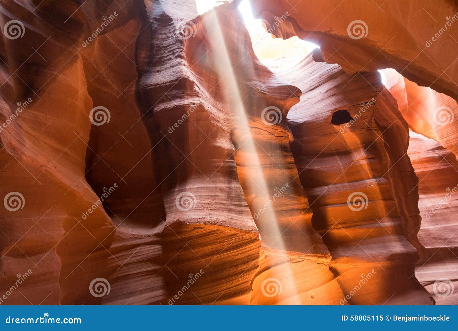 Antilopecanion, Arizona, de V.S., Meer Powell