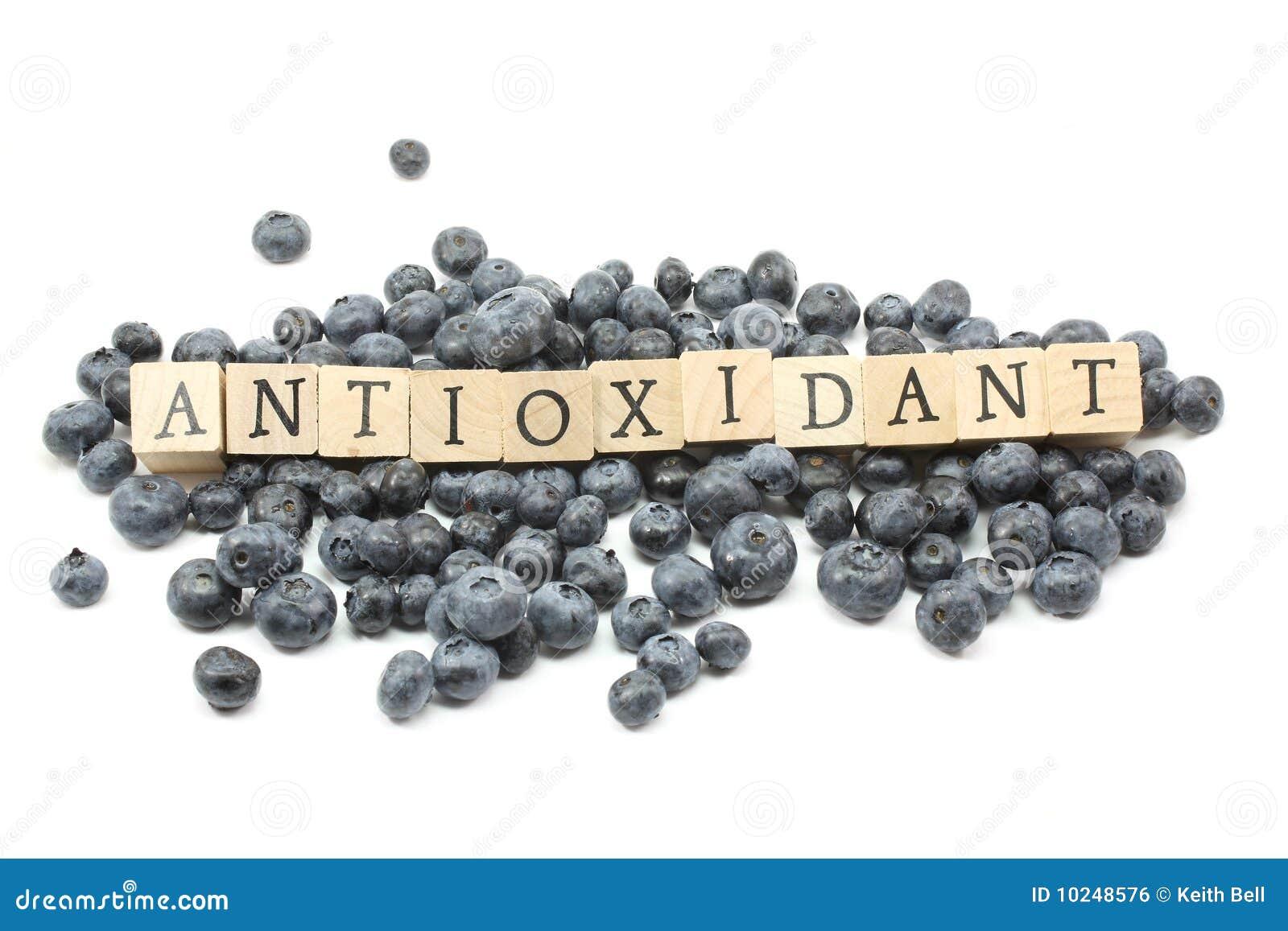 Antioxidantblåbär
