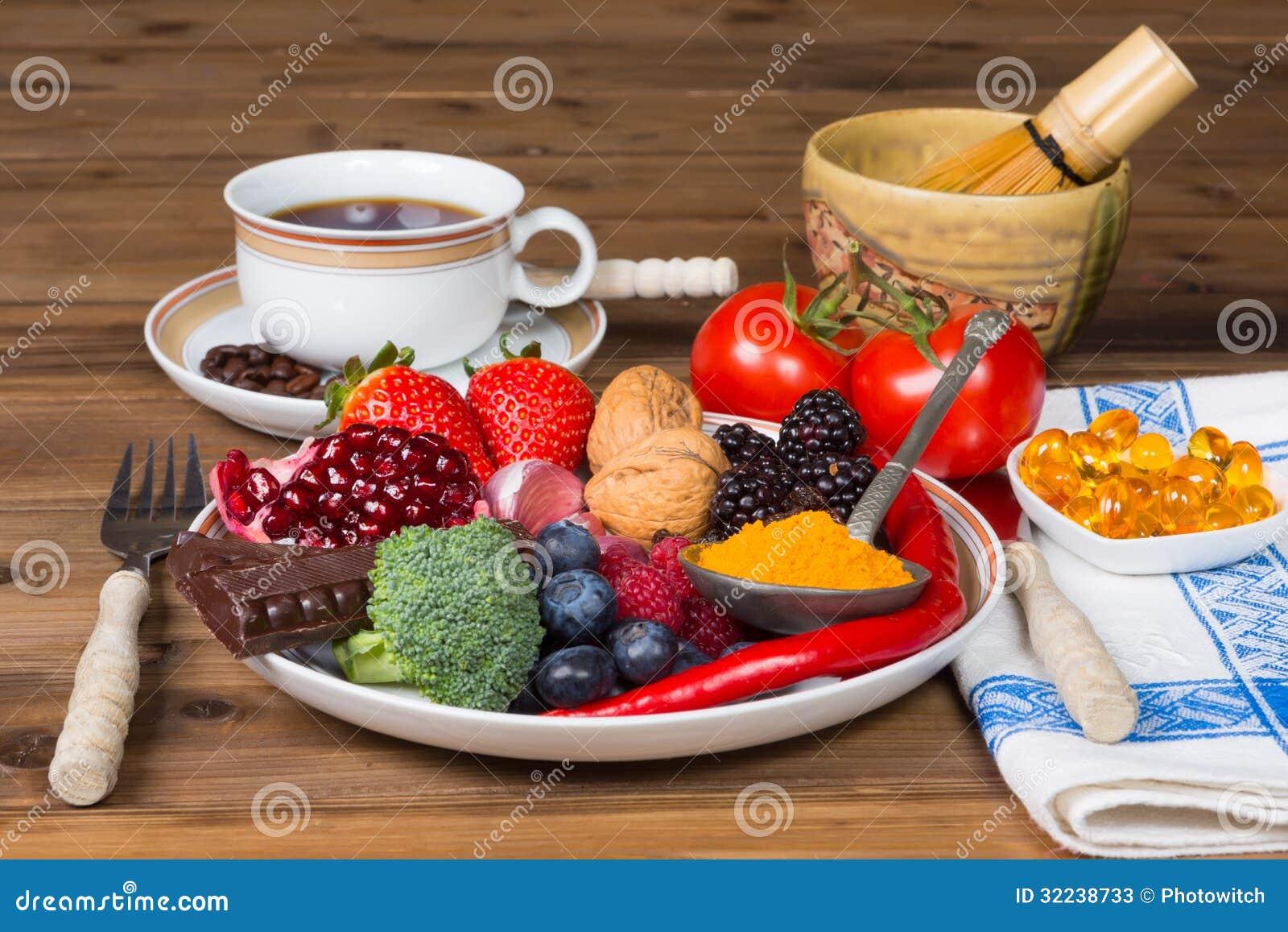 Antioxidantes para el desayuno