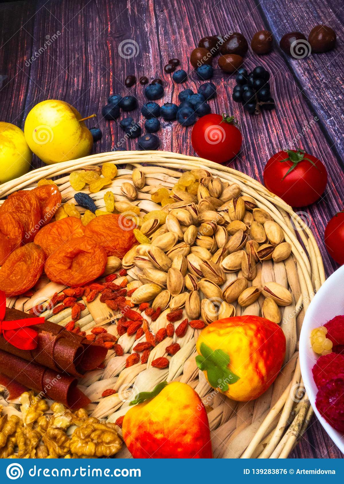 Antioxidants And Resveratrol Rich Food Food For Brain Stock Photo Image Of Food Concept 139283876