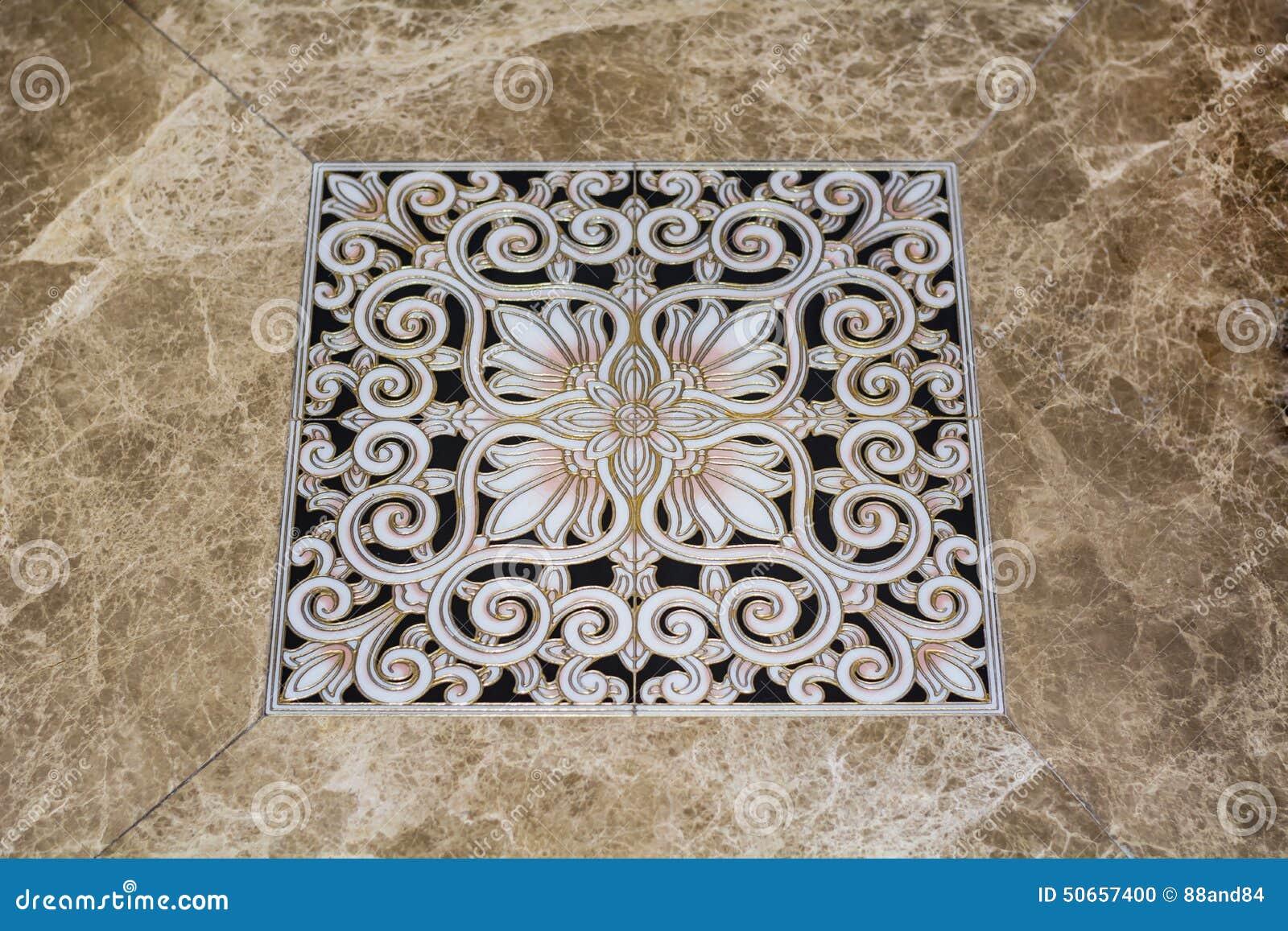 download antique arabic floor tiles stock photo image of geometry 50657400 - Antique Floor Tiles