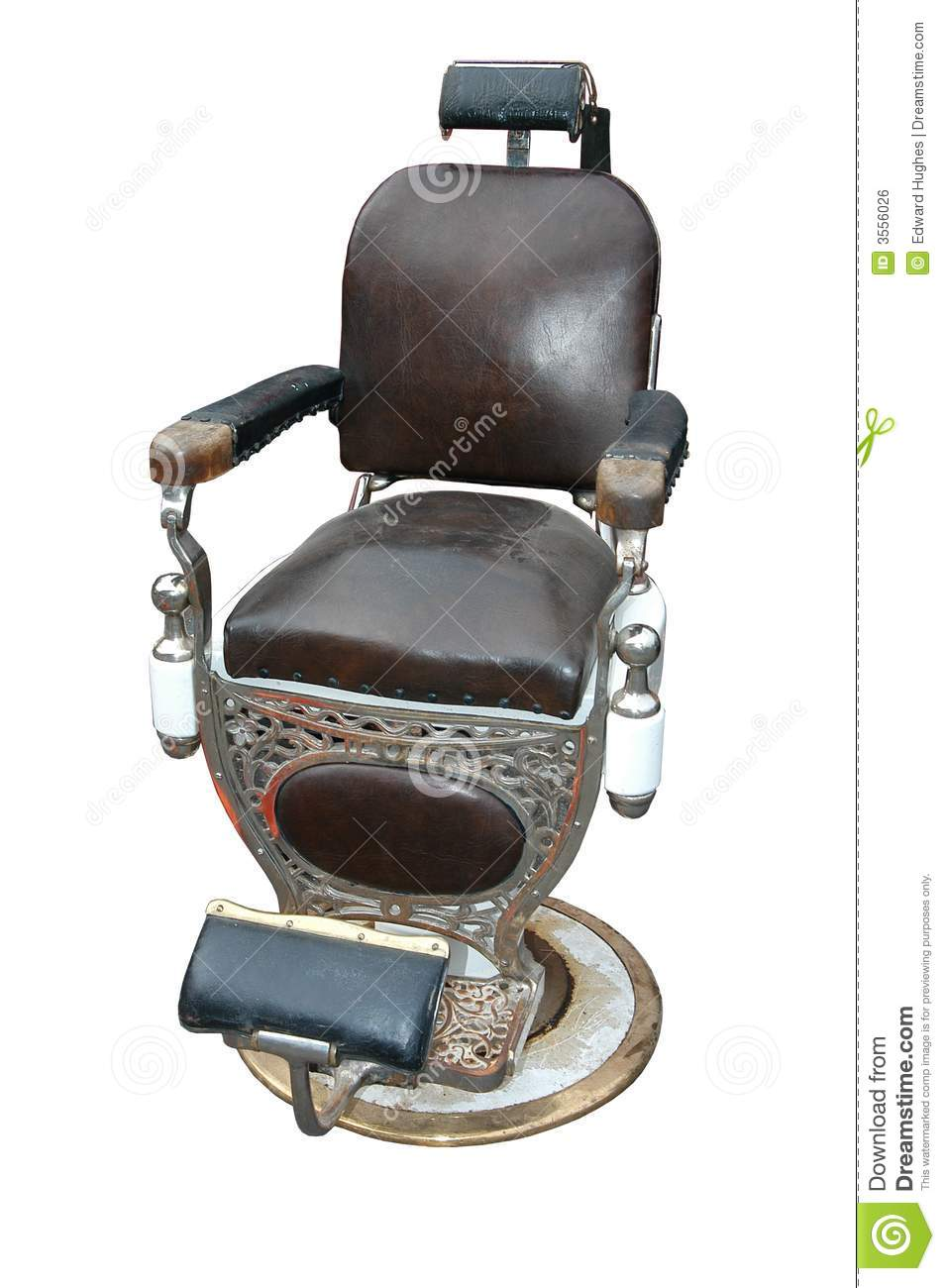 Old Fashioned Leather Chair