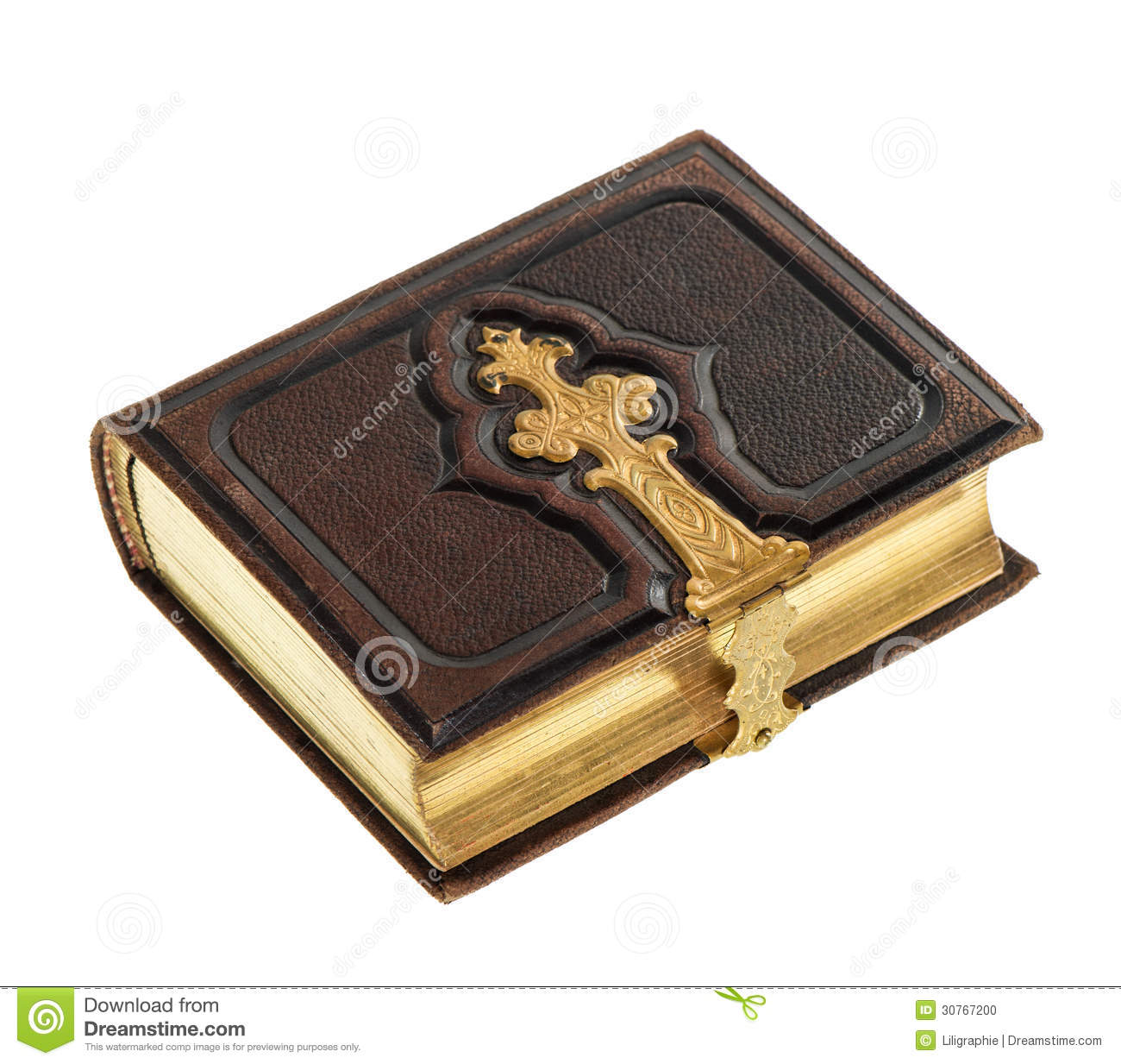Antique book with golden decoration stock photo image for Antique books for decoration