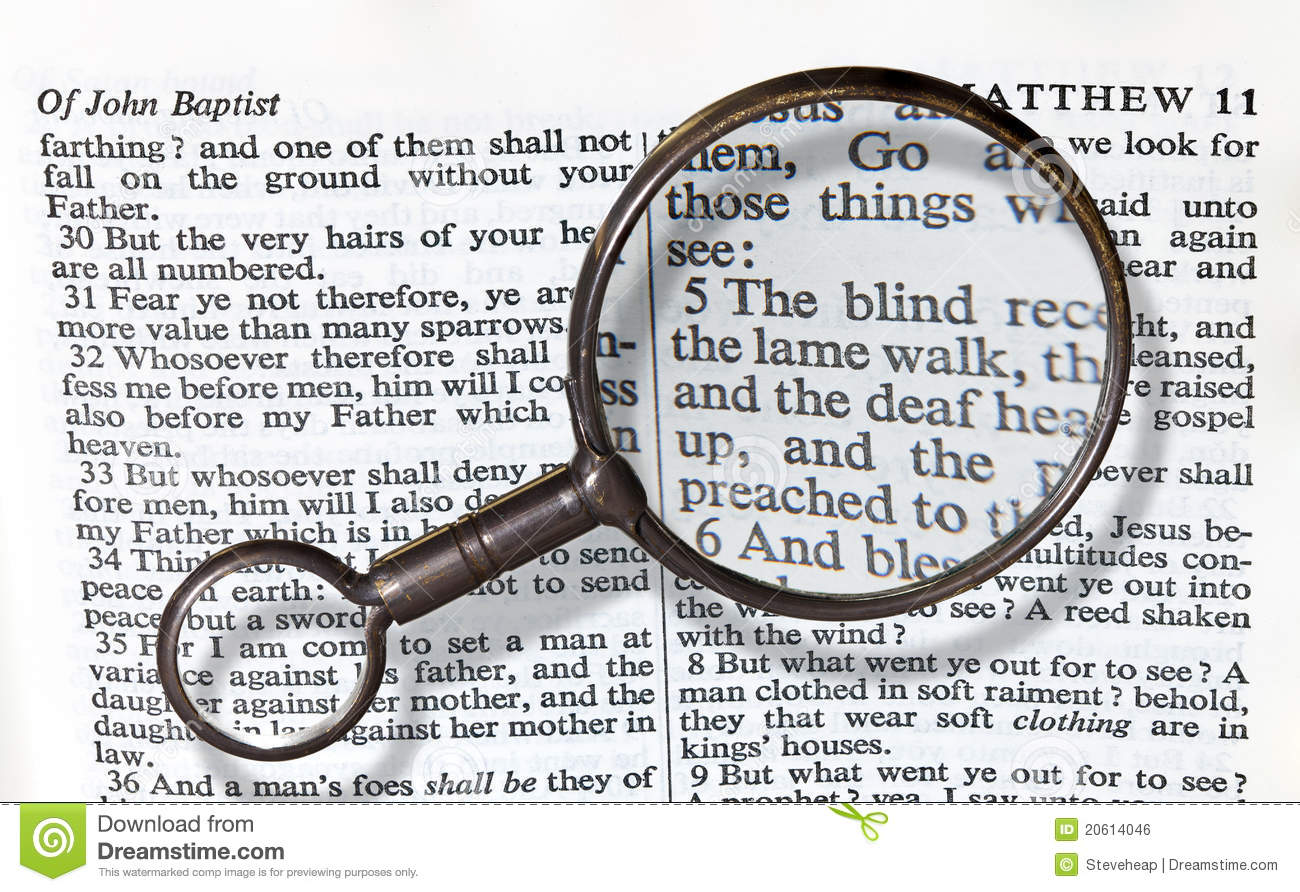 antique brass magnifying glass royalty free stock image
