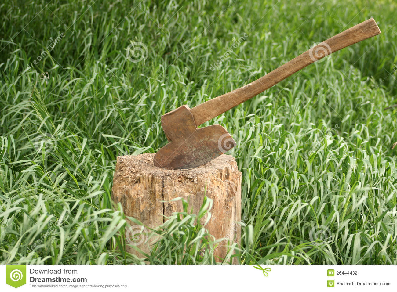 how to build a axe on rust