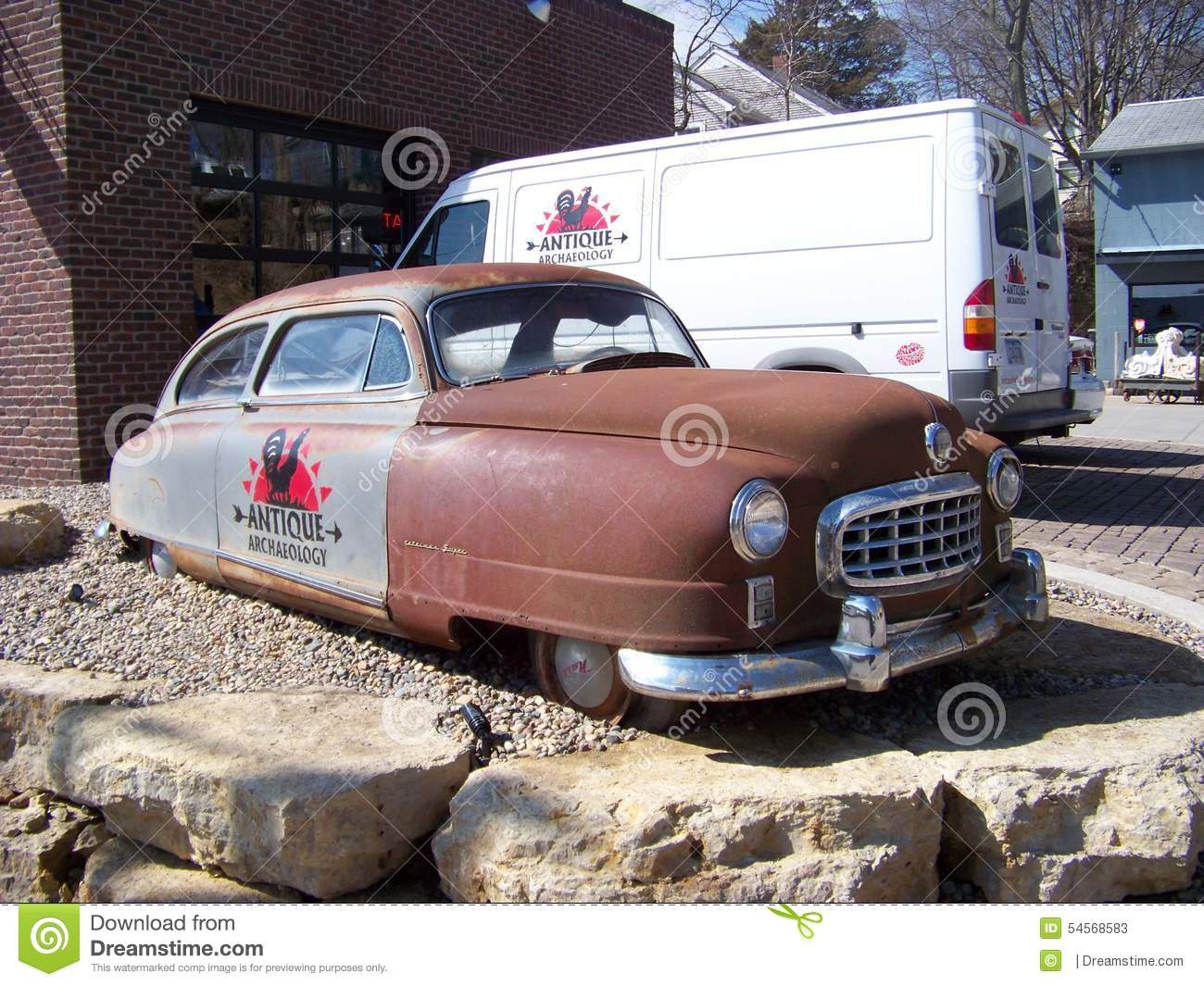 Antique Car From American Pickers Editorial Stock Photo - Image of ...