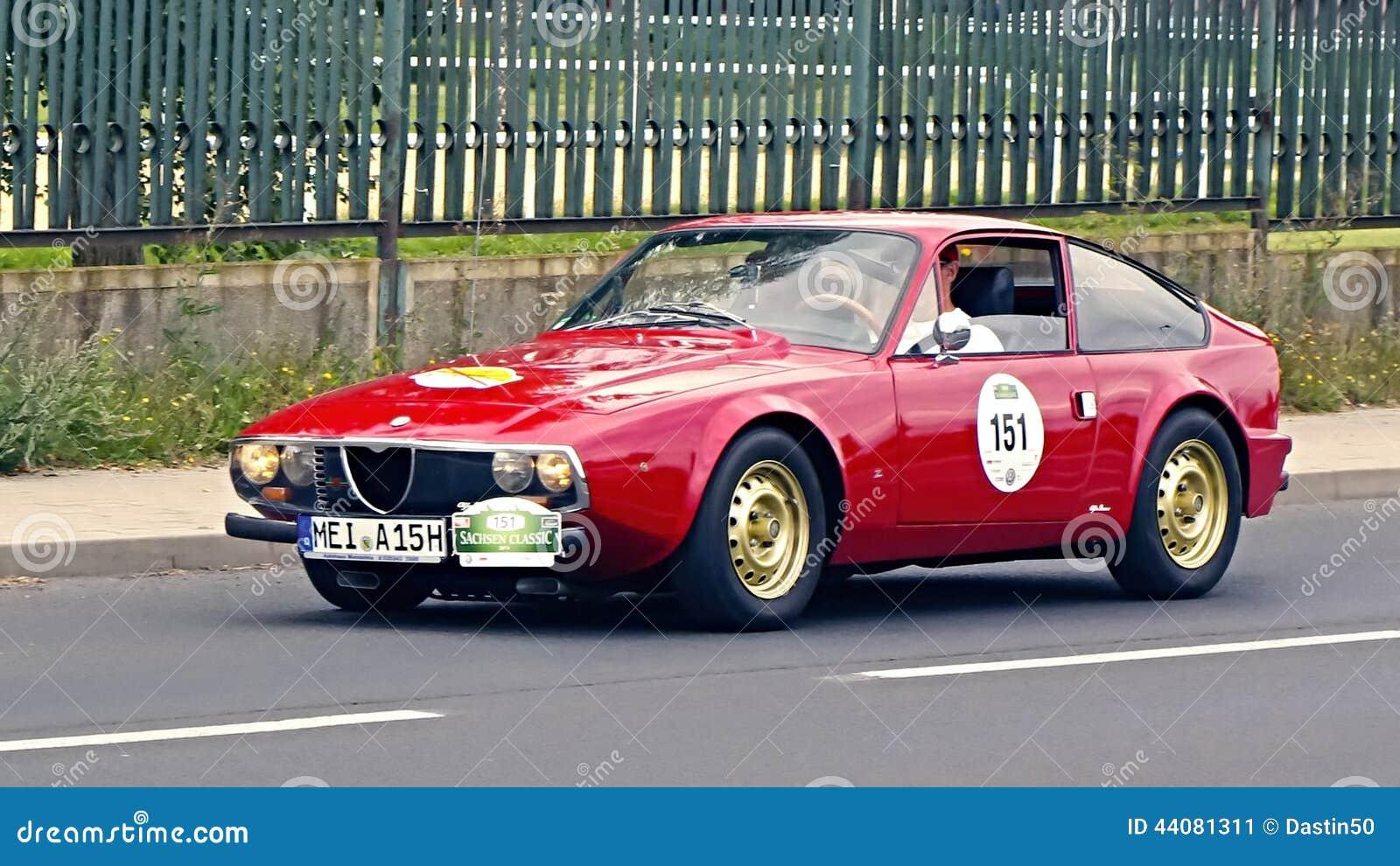 Alfa Romeo 1300 GT Junior Zagato 1971 Editorial Photo ...