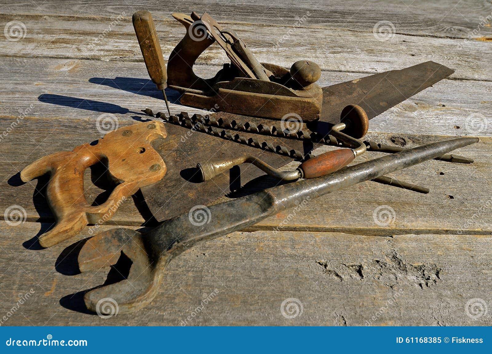 Incredible Antique Carpenter Tools Stock Image Image Of Memories Creativecarmelina Interior Chair Design Creativecarmelinacom