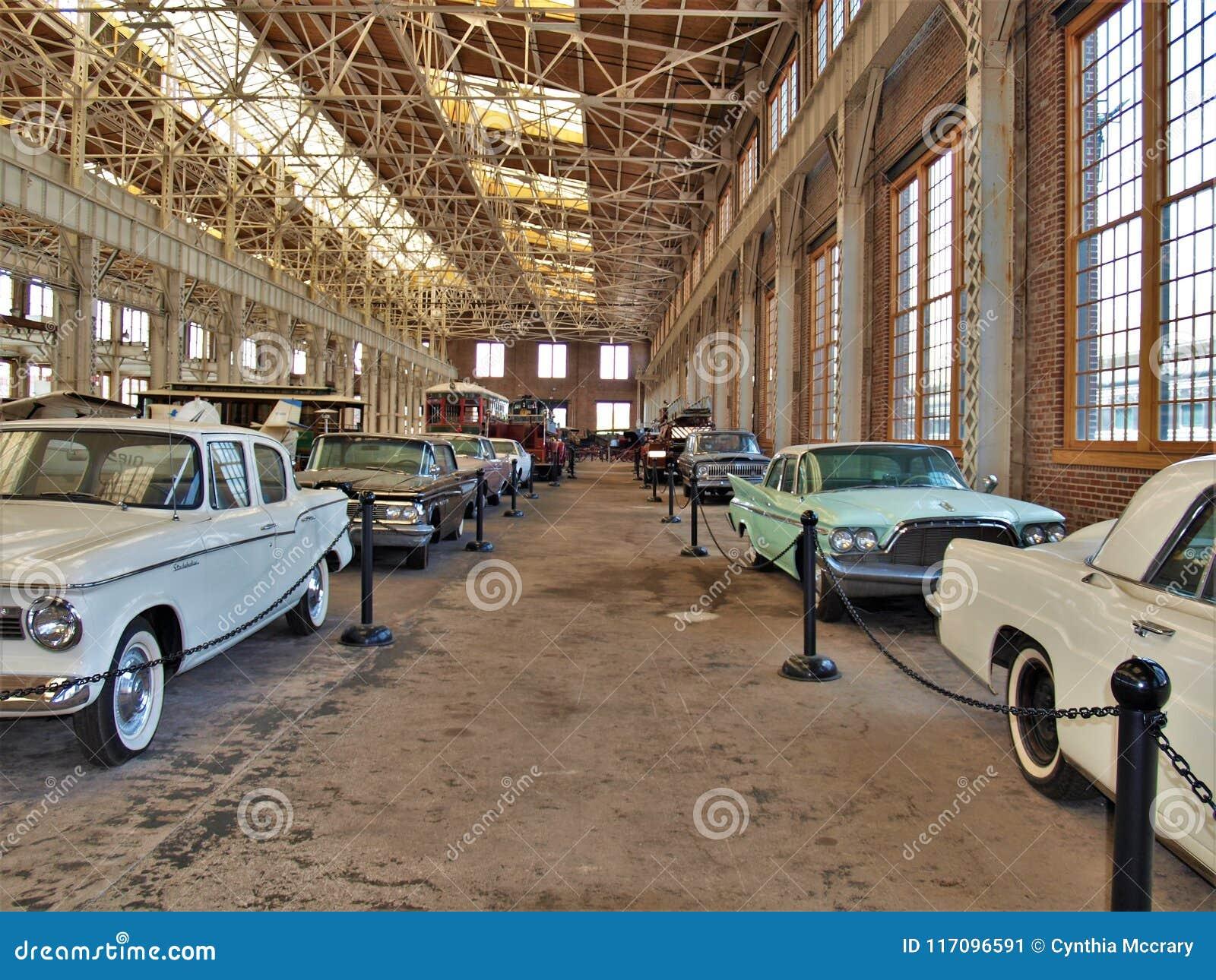Antique Cars At North Carolina Transportation Museum