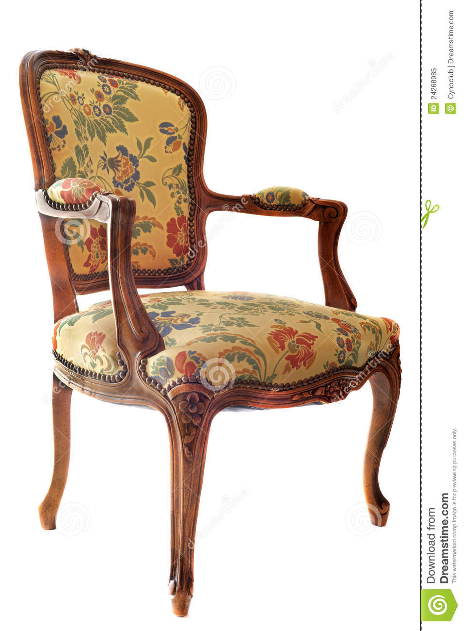 Antique Chair Stock Image Image Of Ornament Relax