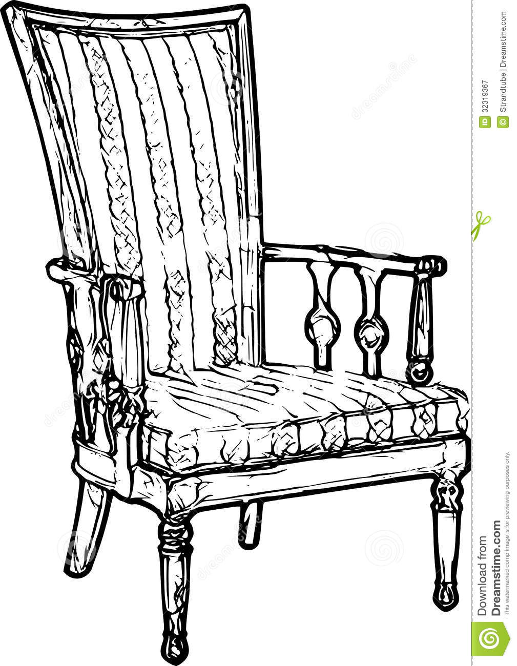 Chair sketch viewing gallery