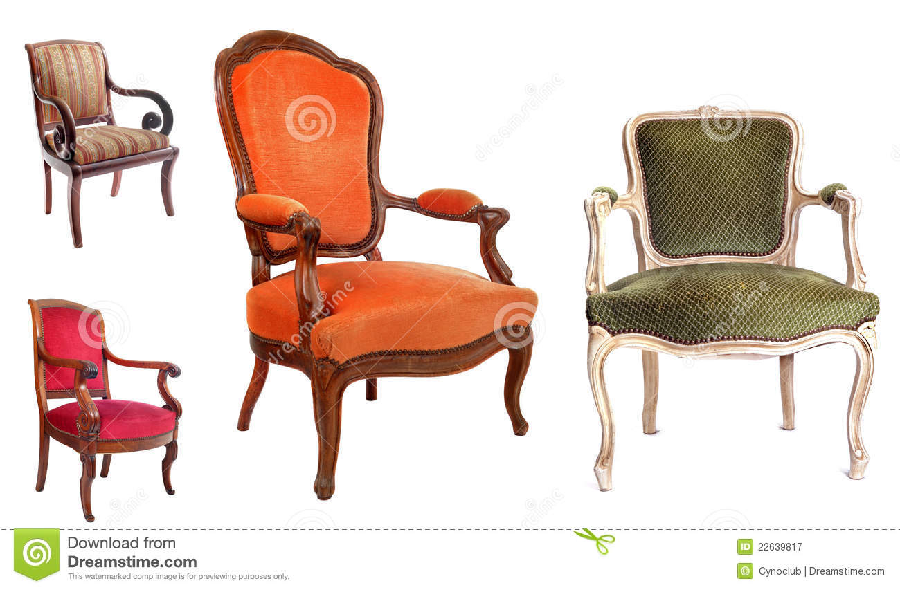 Vintage leather chairs - Antique Chairs Royalty Free Stock Photography Image 22639817