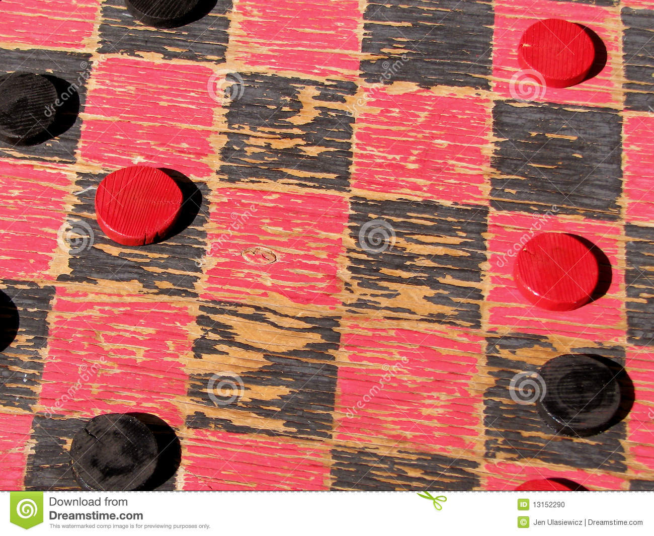people playing checkers
